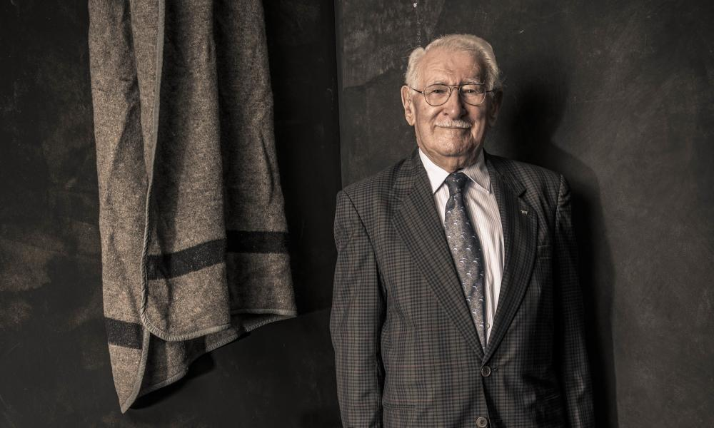 Holocaust survivor Eddie Jaku