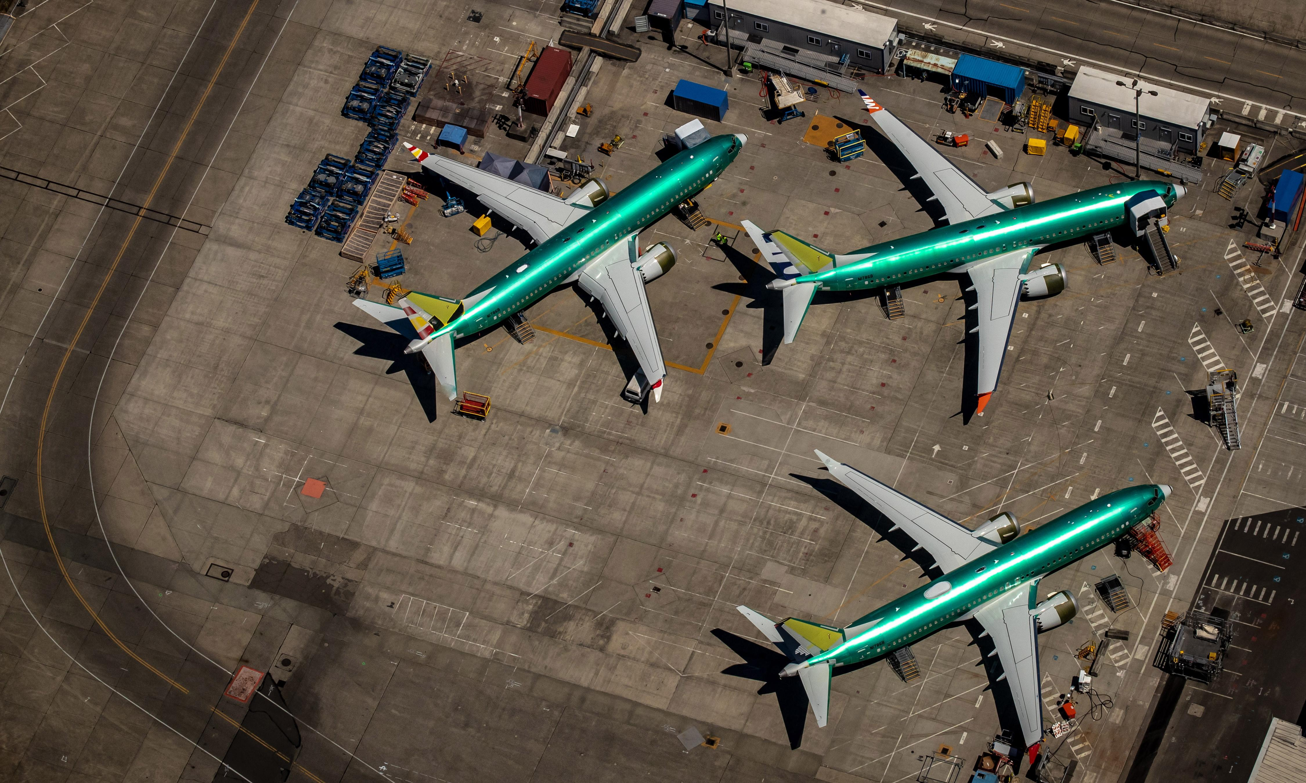 Boeing says it could halt production of 737 Max after grounding