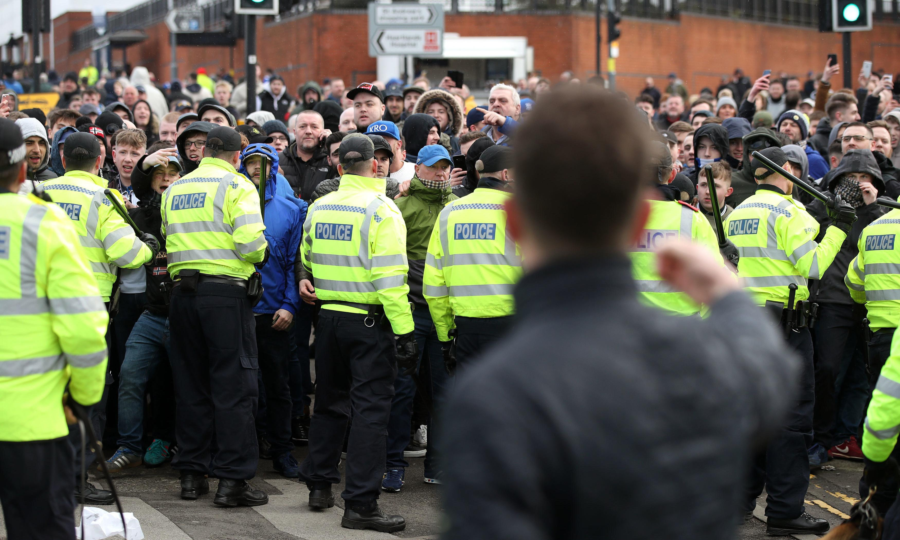 Manchester United fans top list of arrests involving racism as a factor