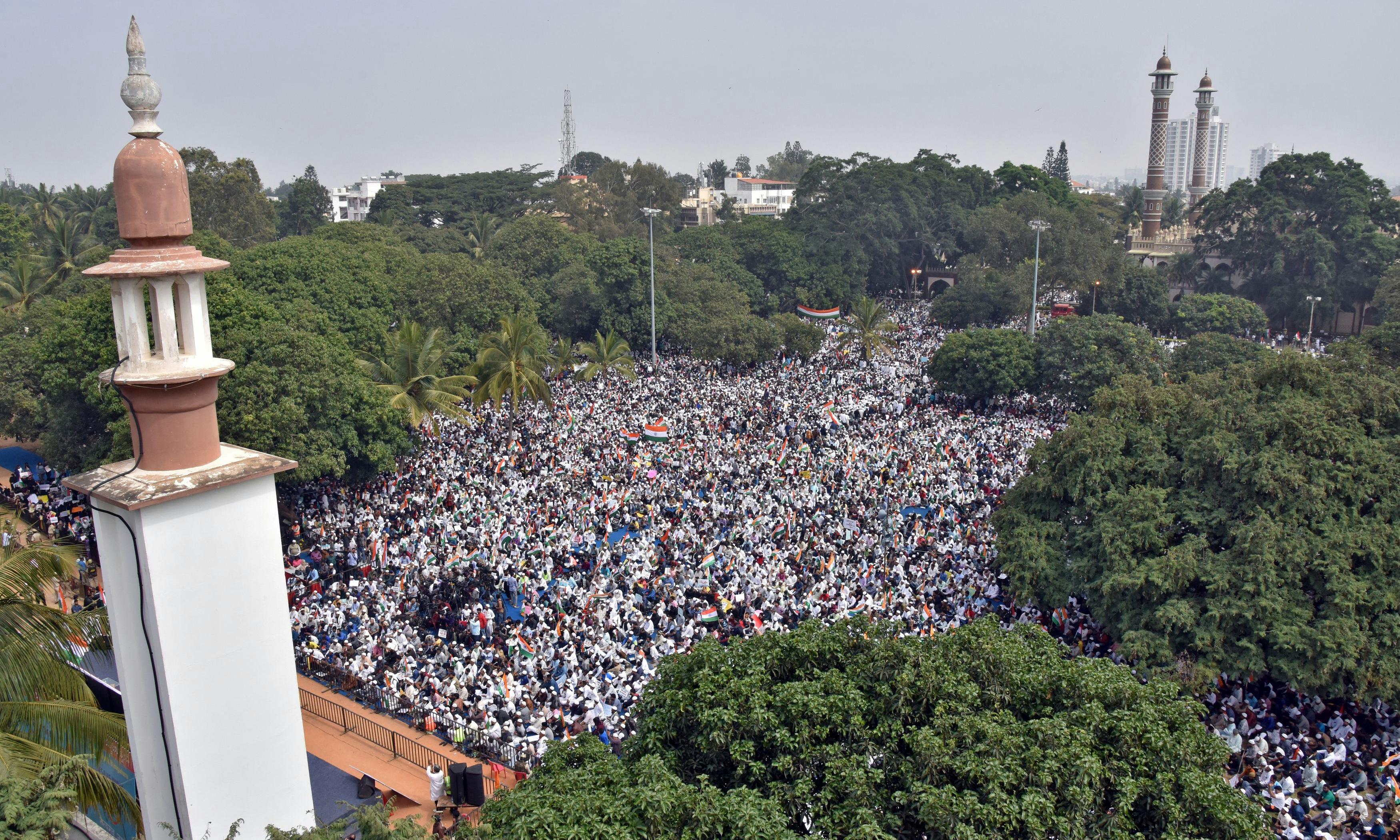 My family are among those protesting. It shows how much Indians value secularism