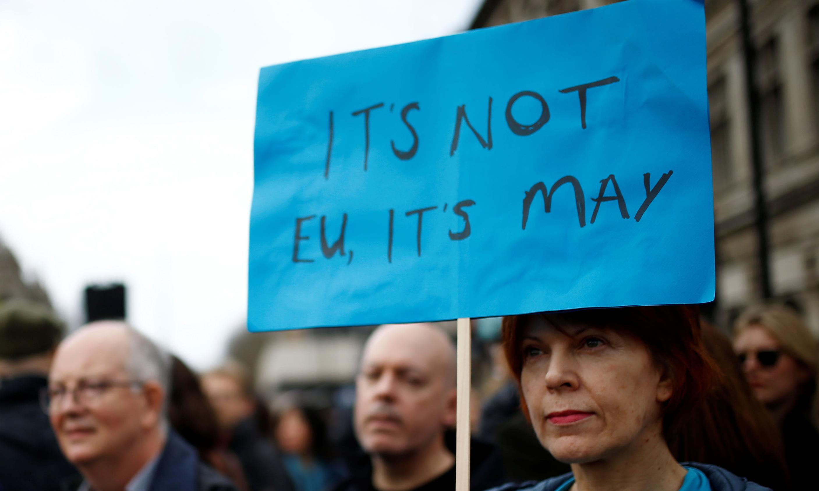 One million join march against Brexit as Tories plan to oust May
