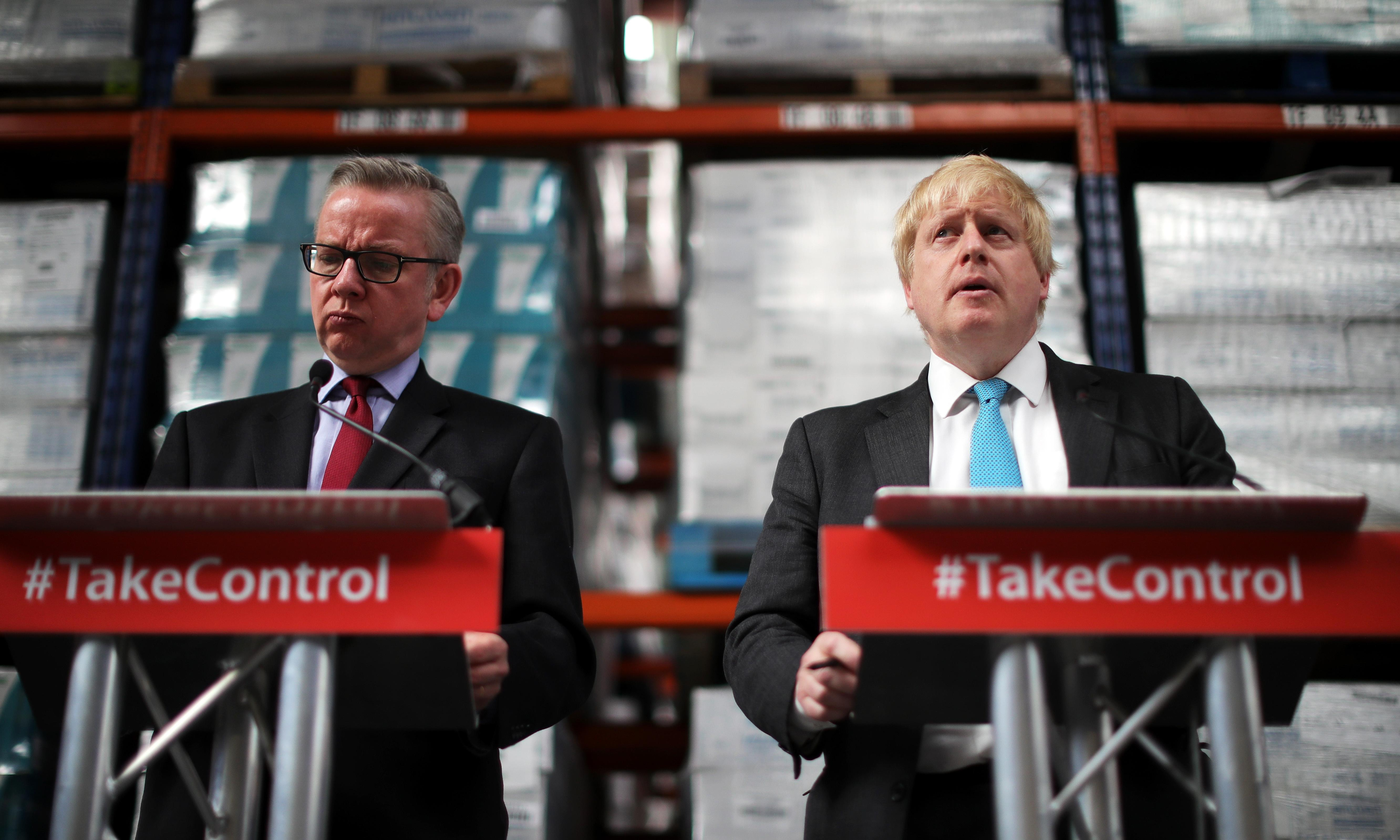 The Gove-Johnson love affair is back on – for a month or two, anyway