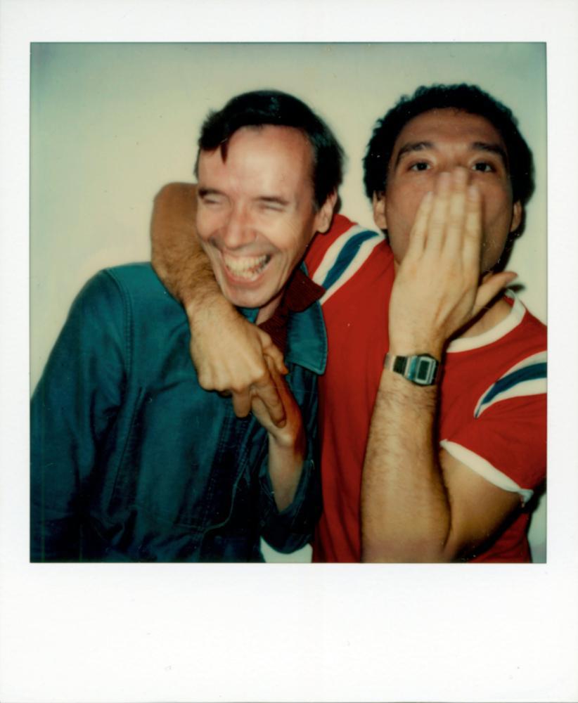 Bill Cunningham and Antonio Lopez, New York City, 1978.