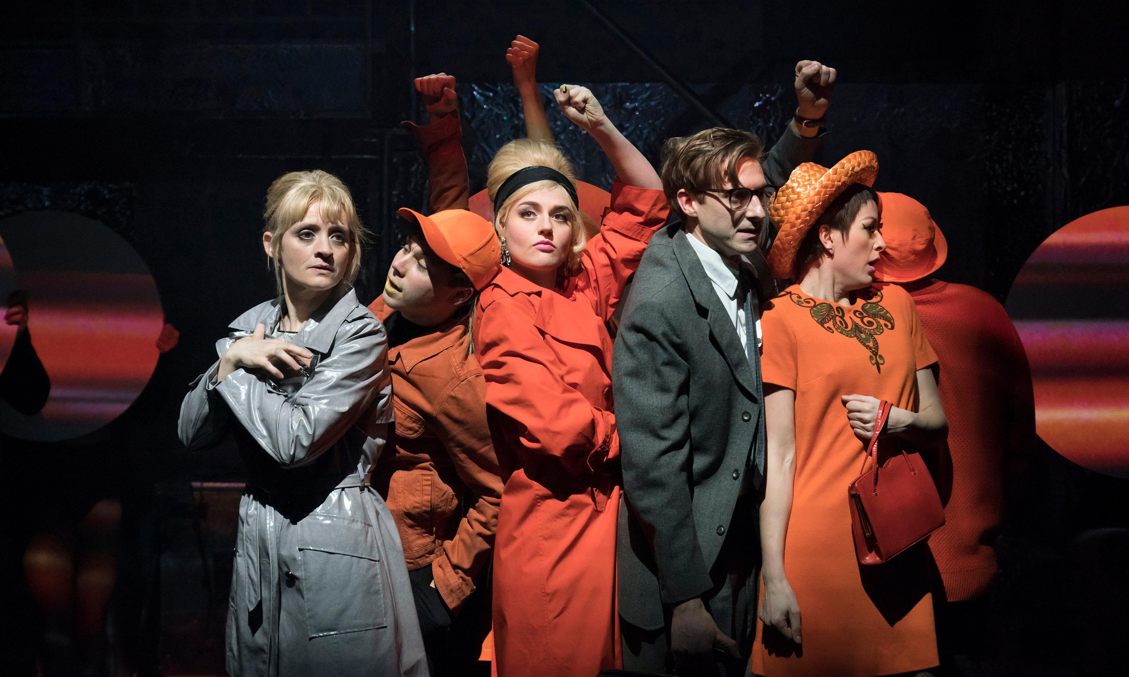 Sweet Charity review – Anne-Marie Duff has the rhythm of life