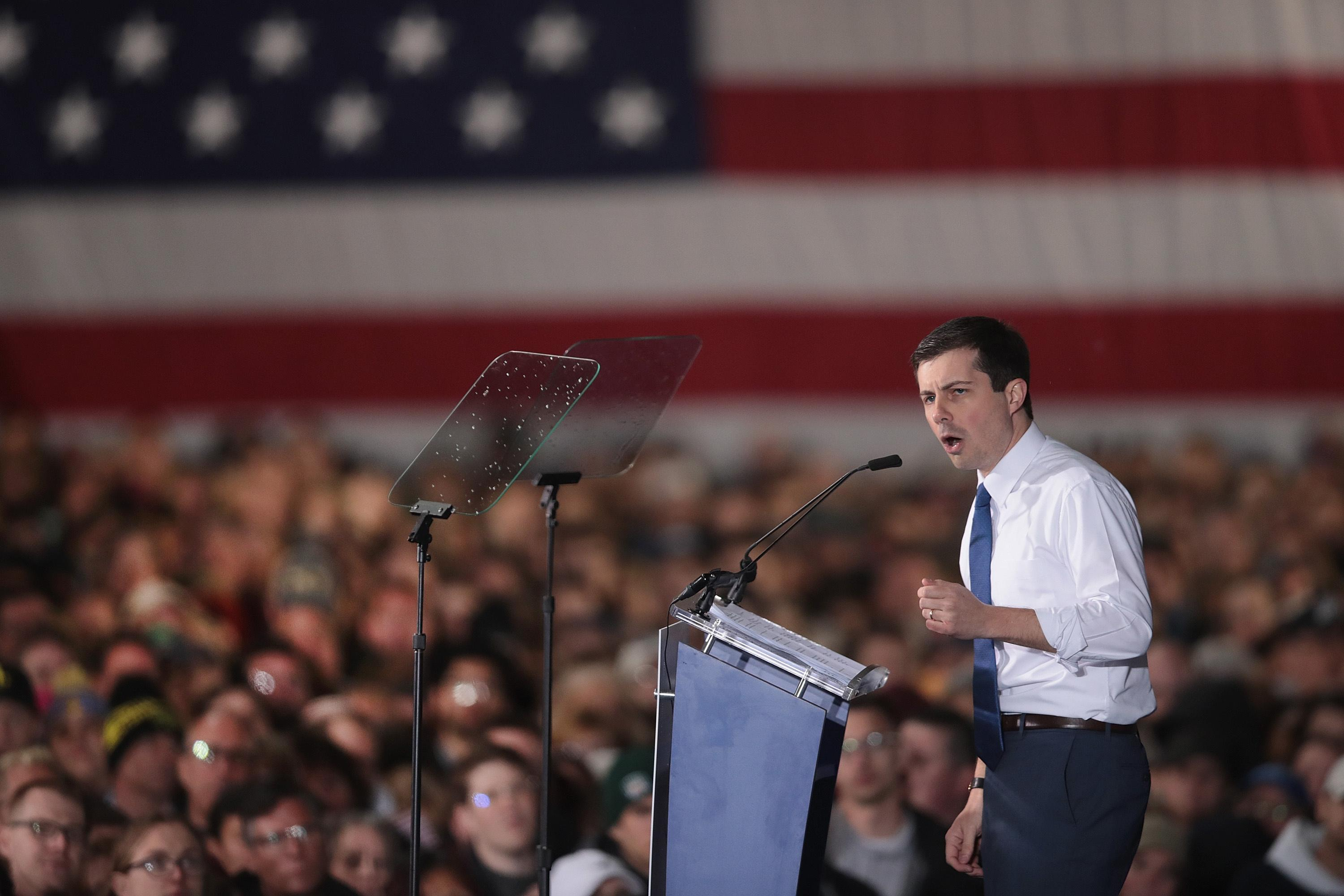 Young, Ivy League and data-driven: why venture capitalists love Pete Buttigieg