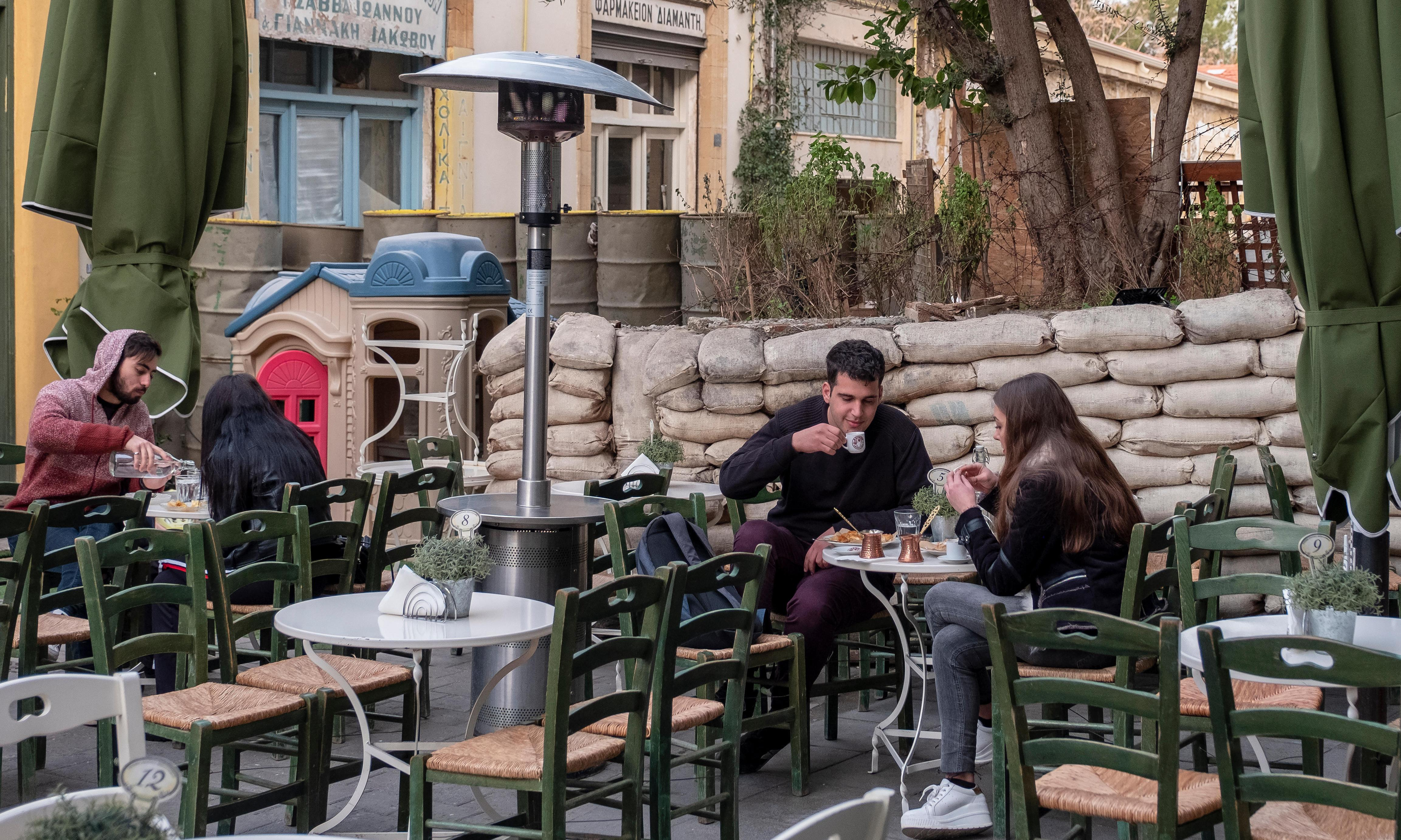New generation of Cypriots seek to end island's division in Nicosia's 'dead zone'