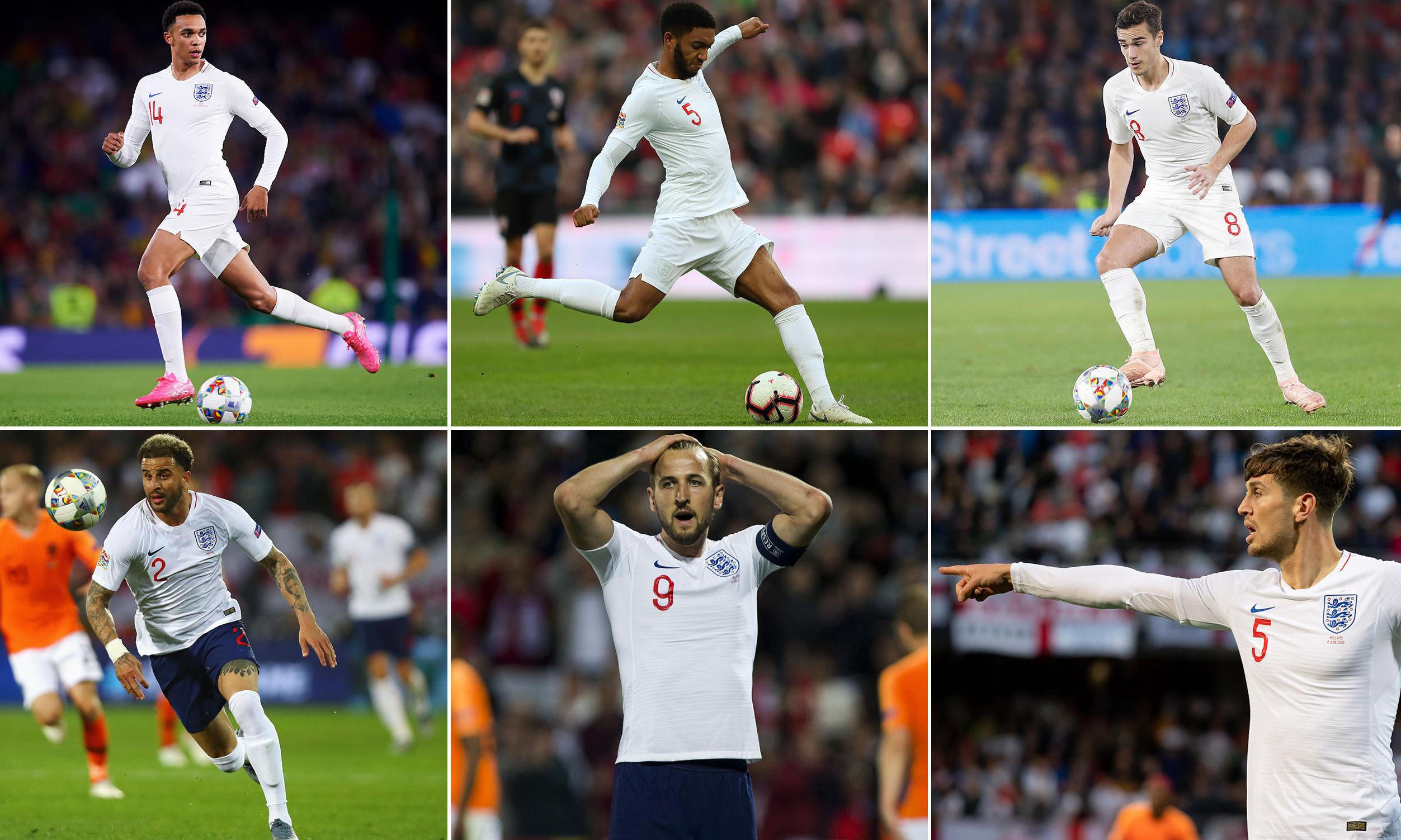 England's winners and losers during the Nations League campaign