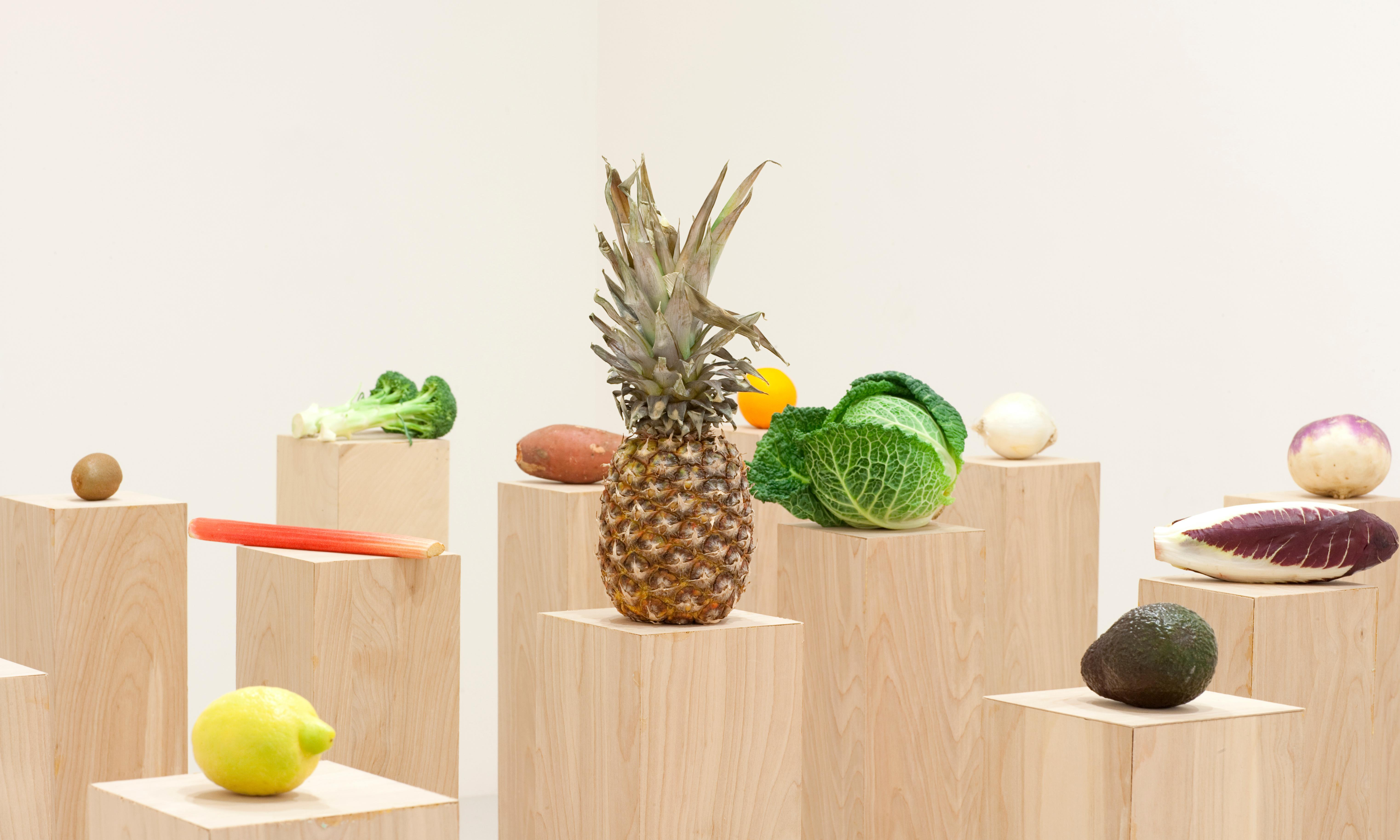 How do you follow heroin lasagne? The artist who wants you to dice his veg