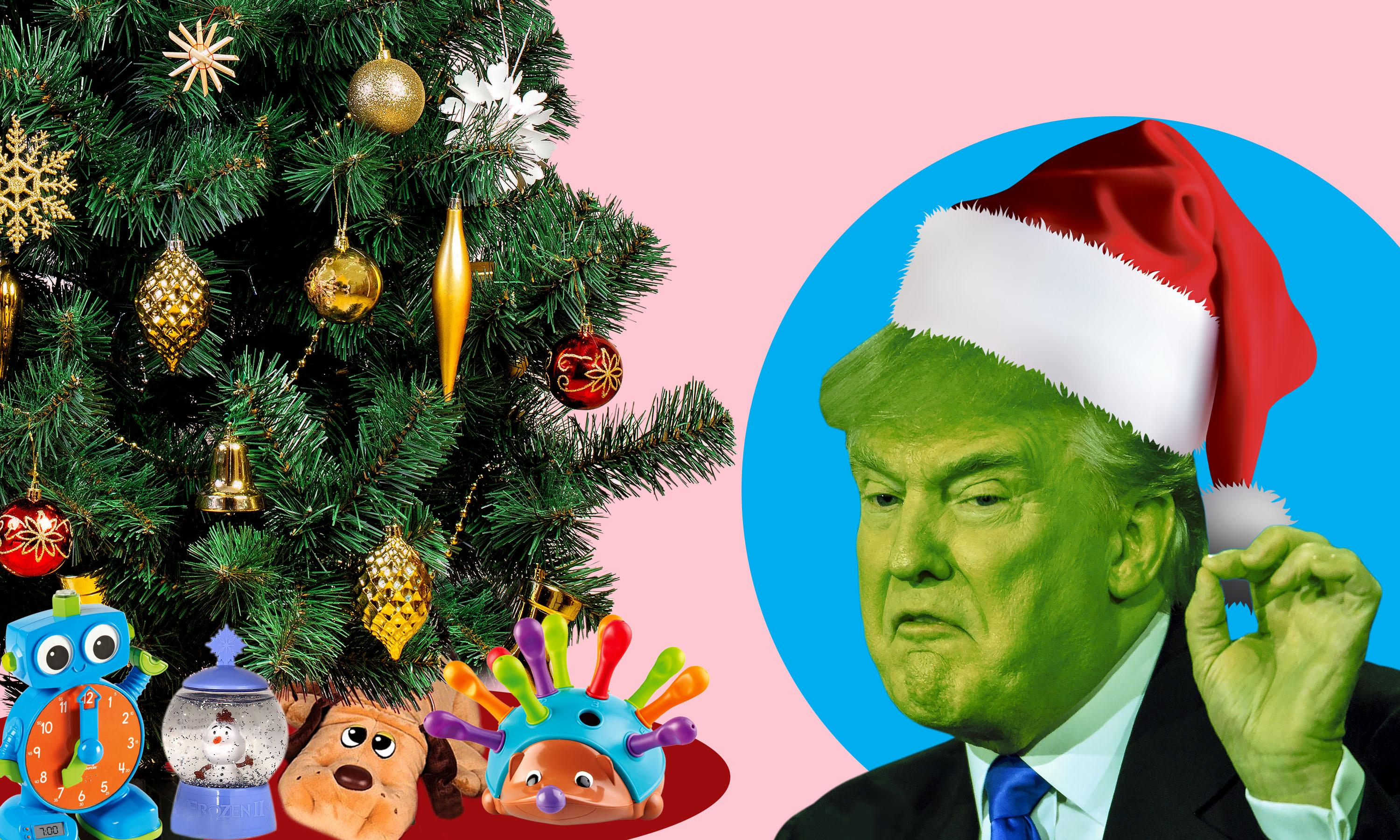 Trump's trade war creates 'nightmare before Christmas' for US toy-makers