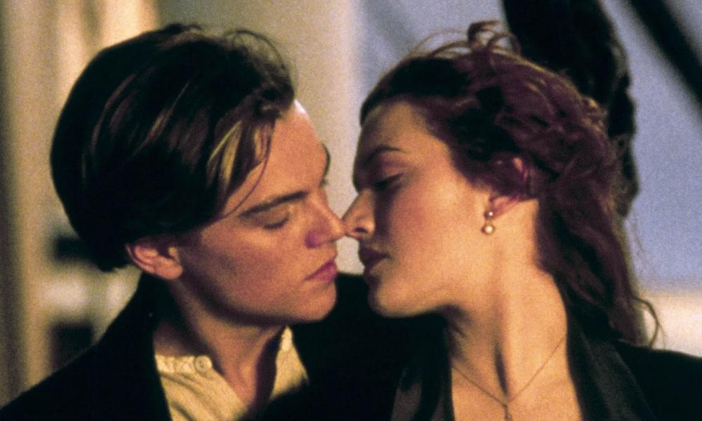 Jack and Rose from James Cameron's 1997 blockbuster Titanic