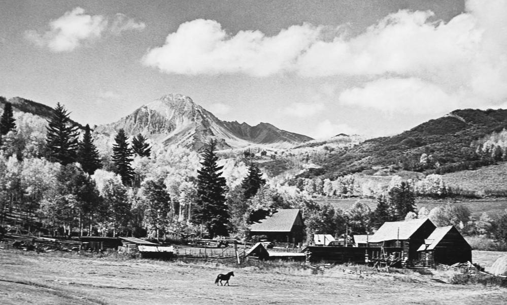 Anderson Ranch Arts Center in the 1940s