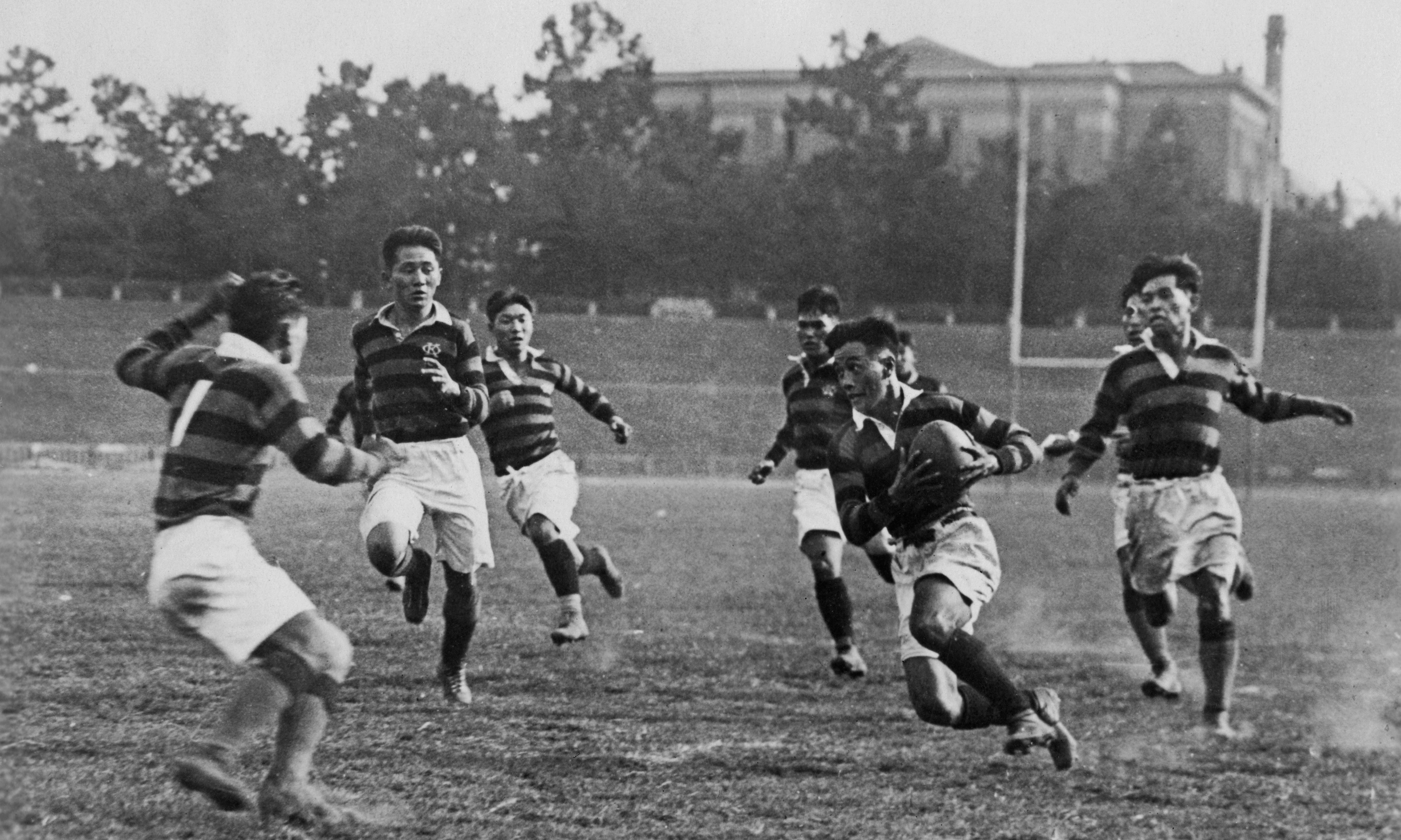 History makers: the origins of Japan's 150-year love affair with rugby