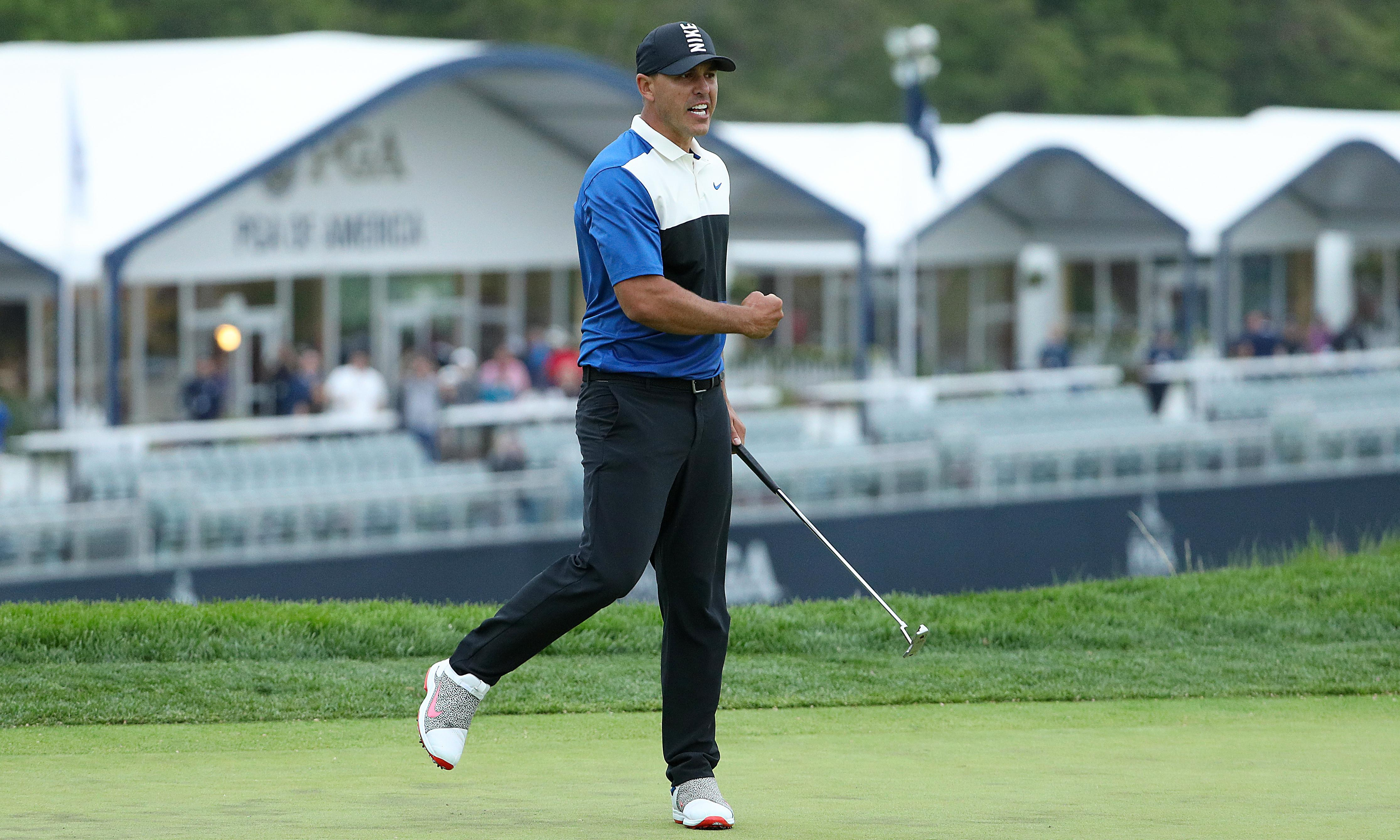 Brooks Koepka says fans' chants for 'DJ' helped him recover to win US PGA title