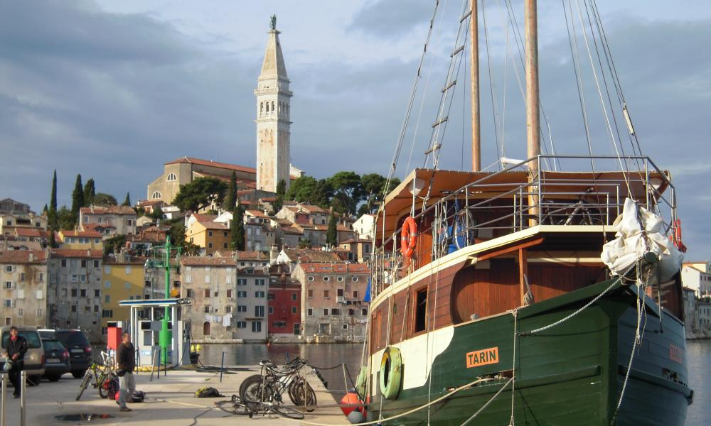 Istrian coast, Trieste to Pula cycling holiday