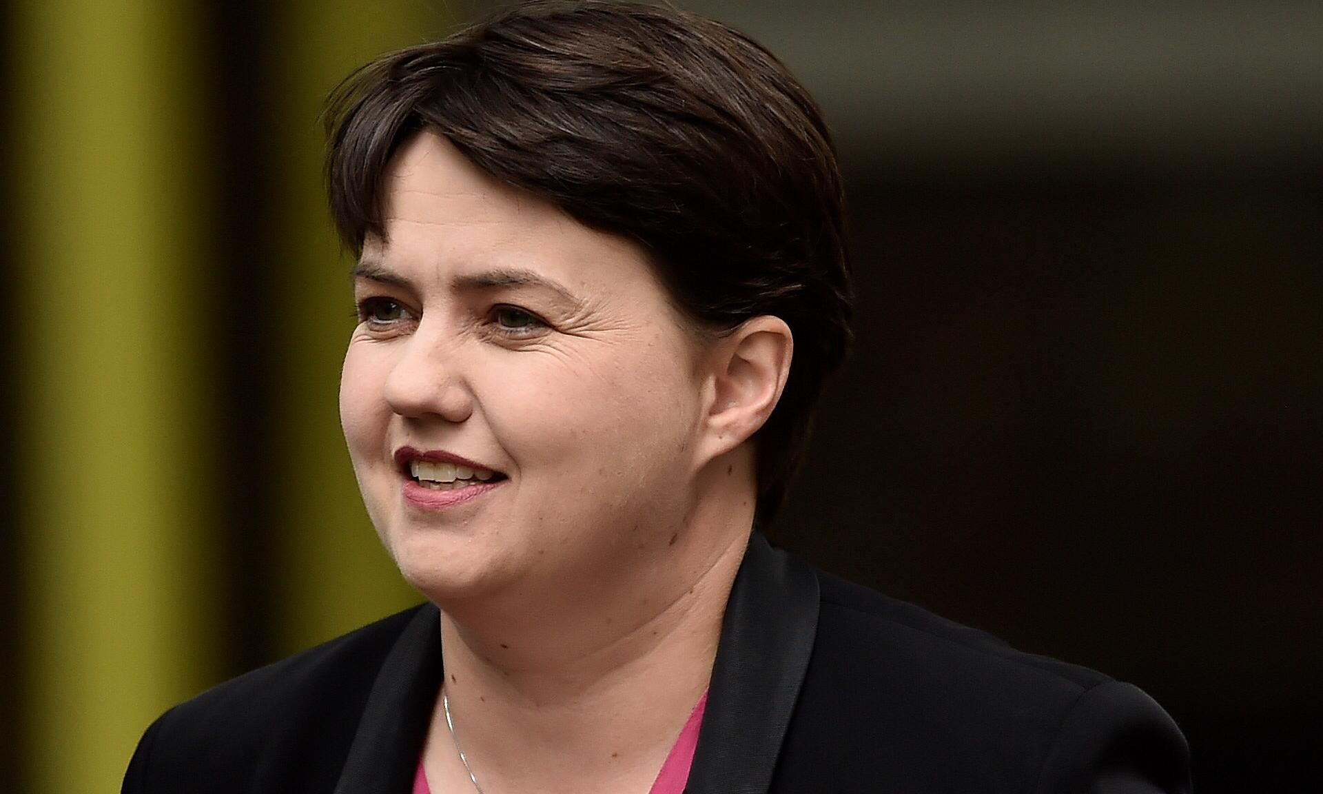 Ruth Davidson praised after talking openly about mental health issues