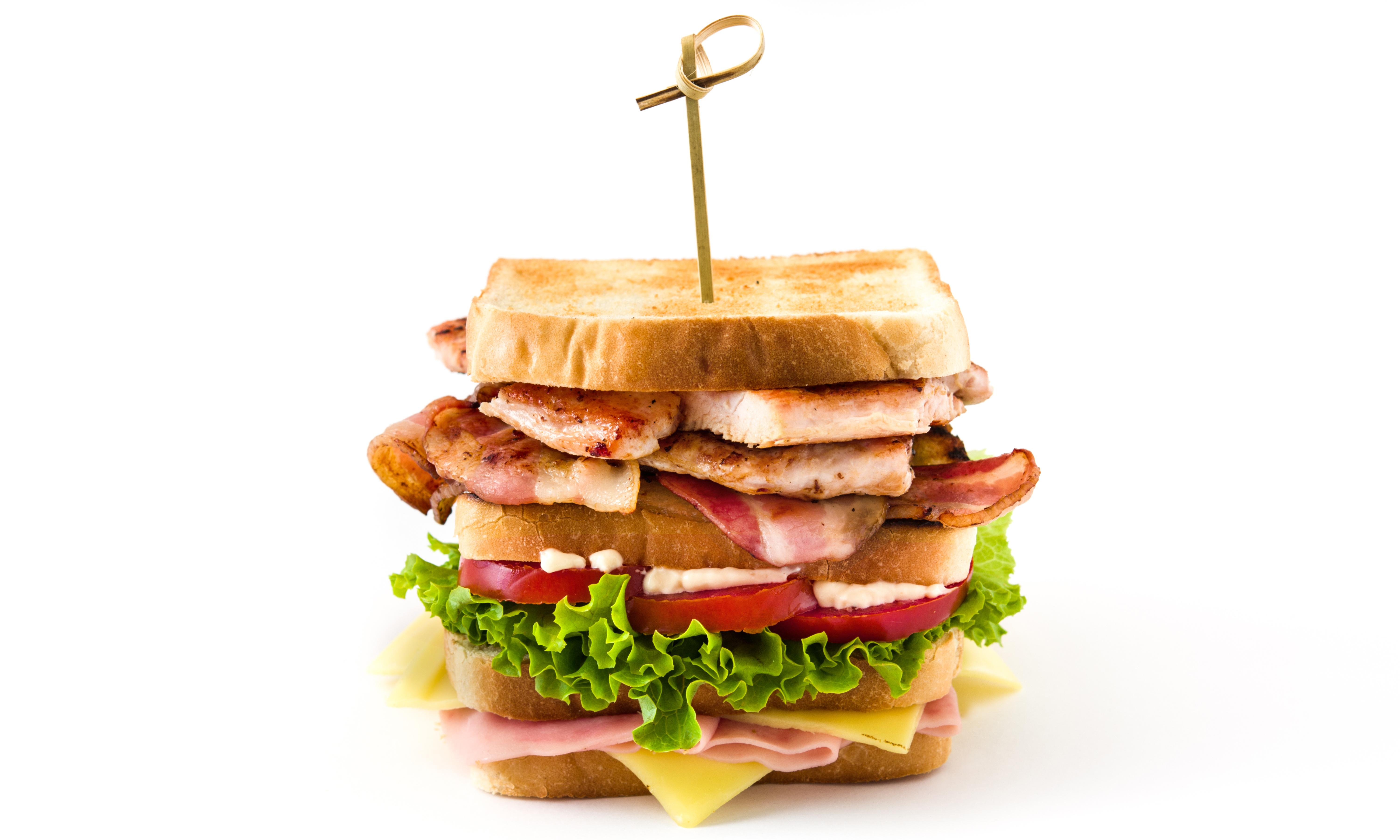 Can you solve it? The club sandwich problem