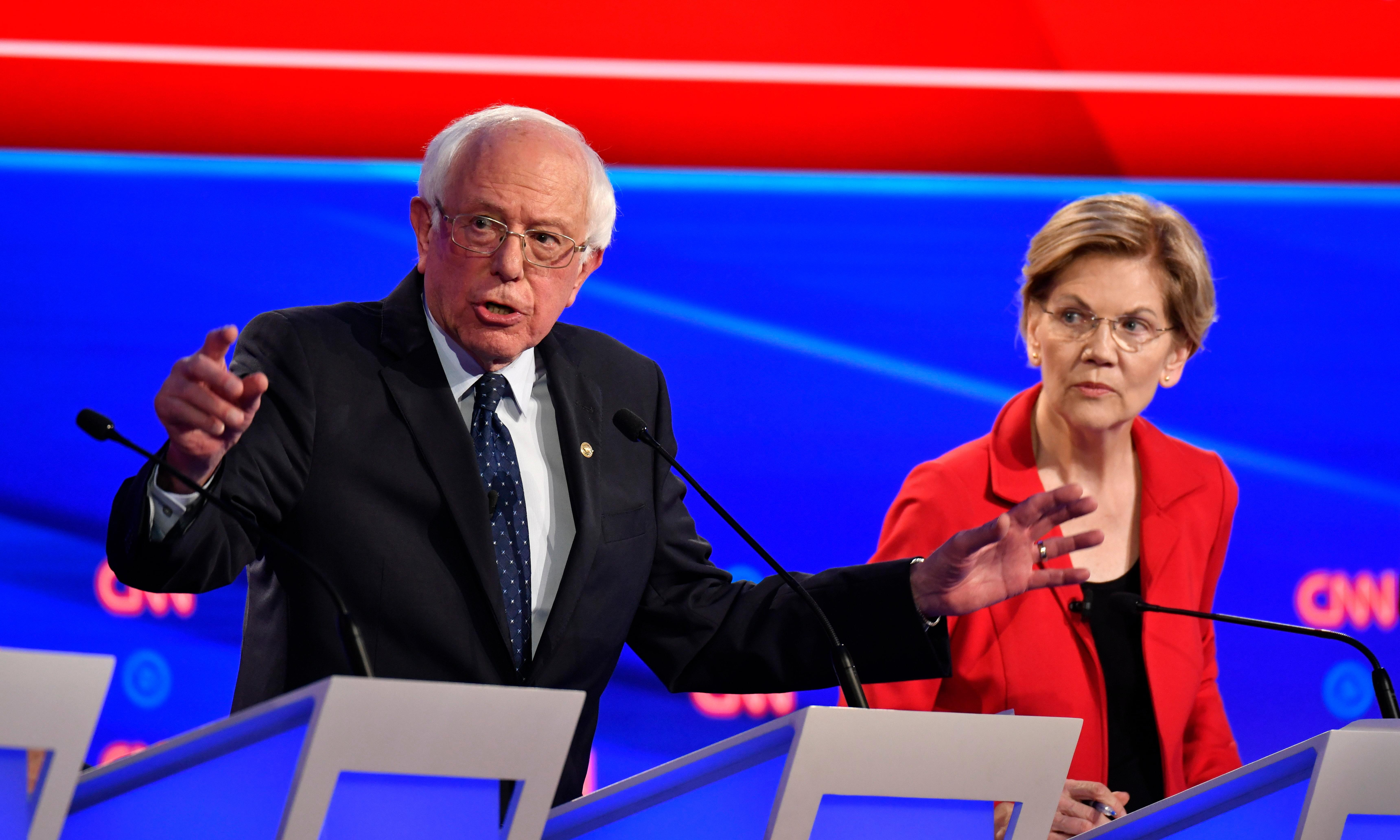 Sanders backs Warren after Liz Cheney attacks 'no first use' nuclear policy