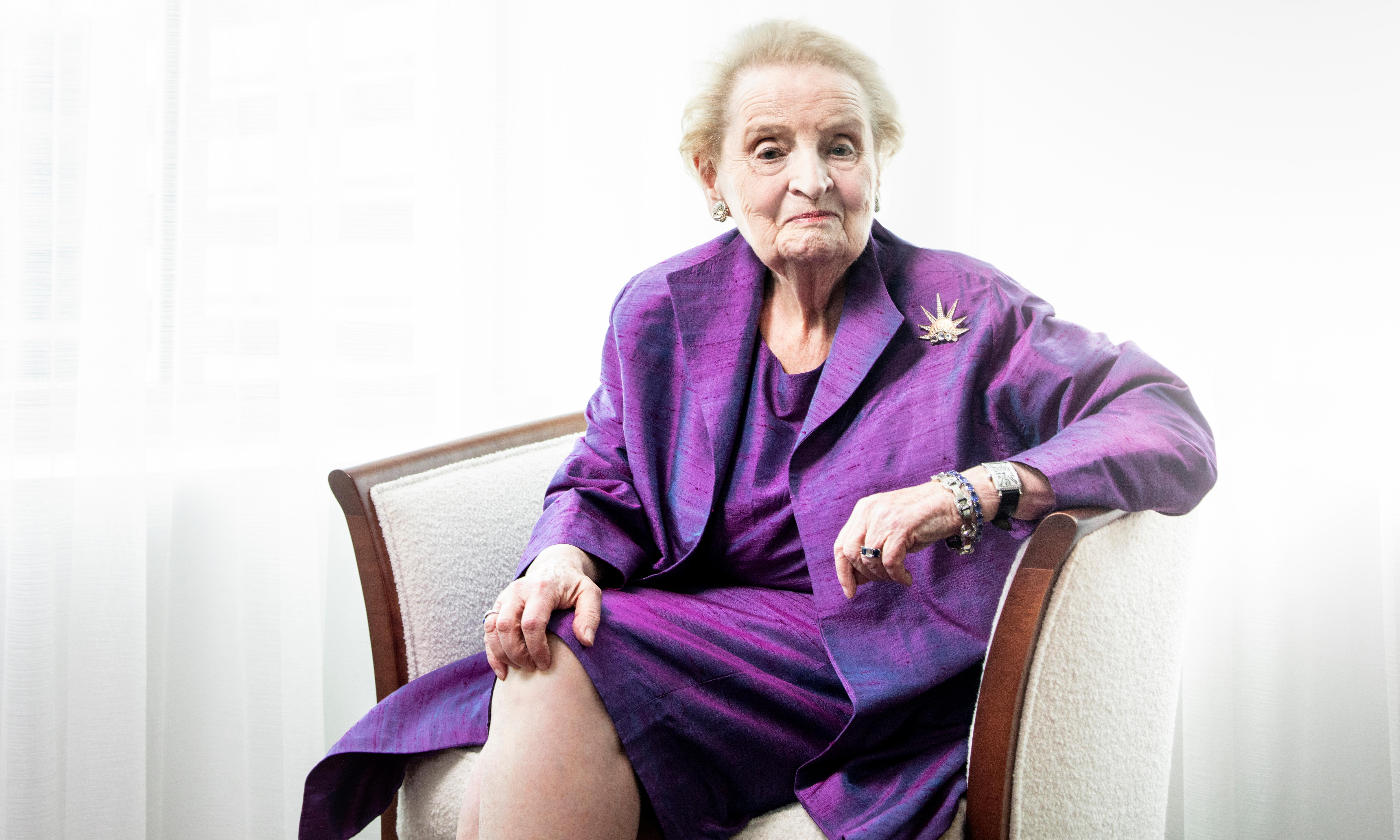 Madeleine Albright: 'The things that are happening are genuinely, seriously bad'