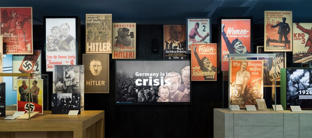objects and original material in the Holocaust Galleries.