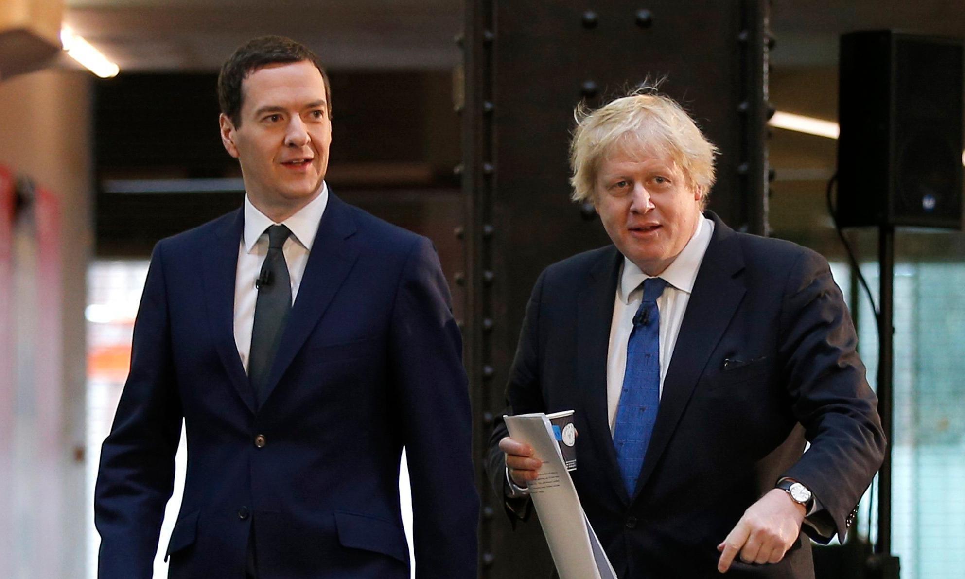 Boris Johnson pushes for George Osborne to be made IMF chief