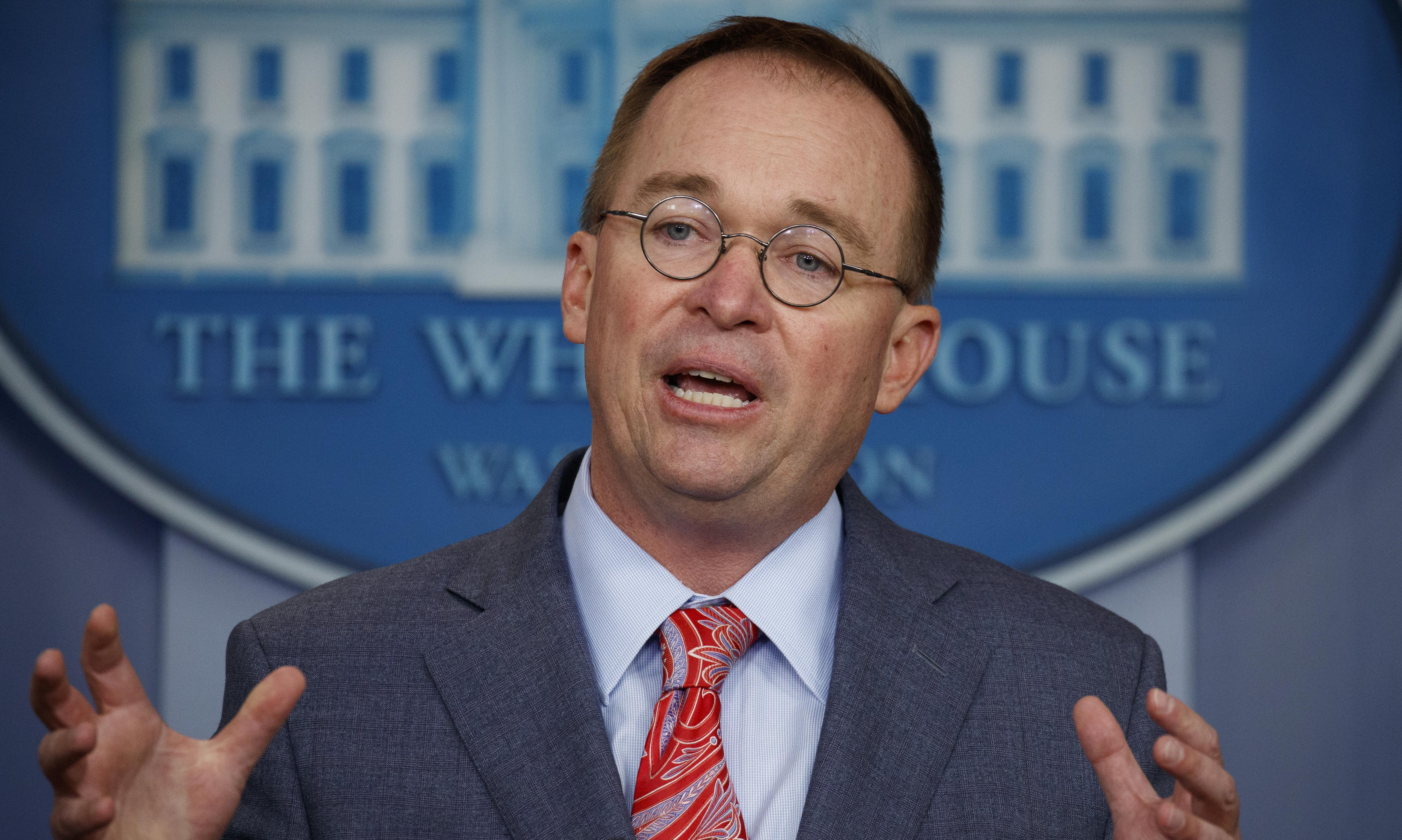 Mick Mulvaney suggests Trump withheld Ukraine aid in quid pro quo