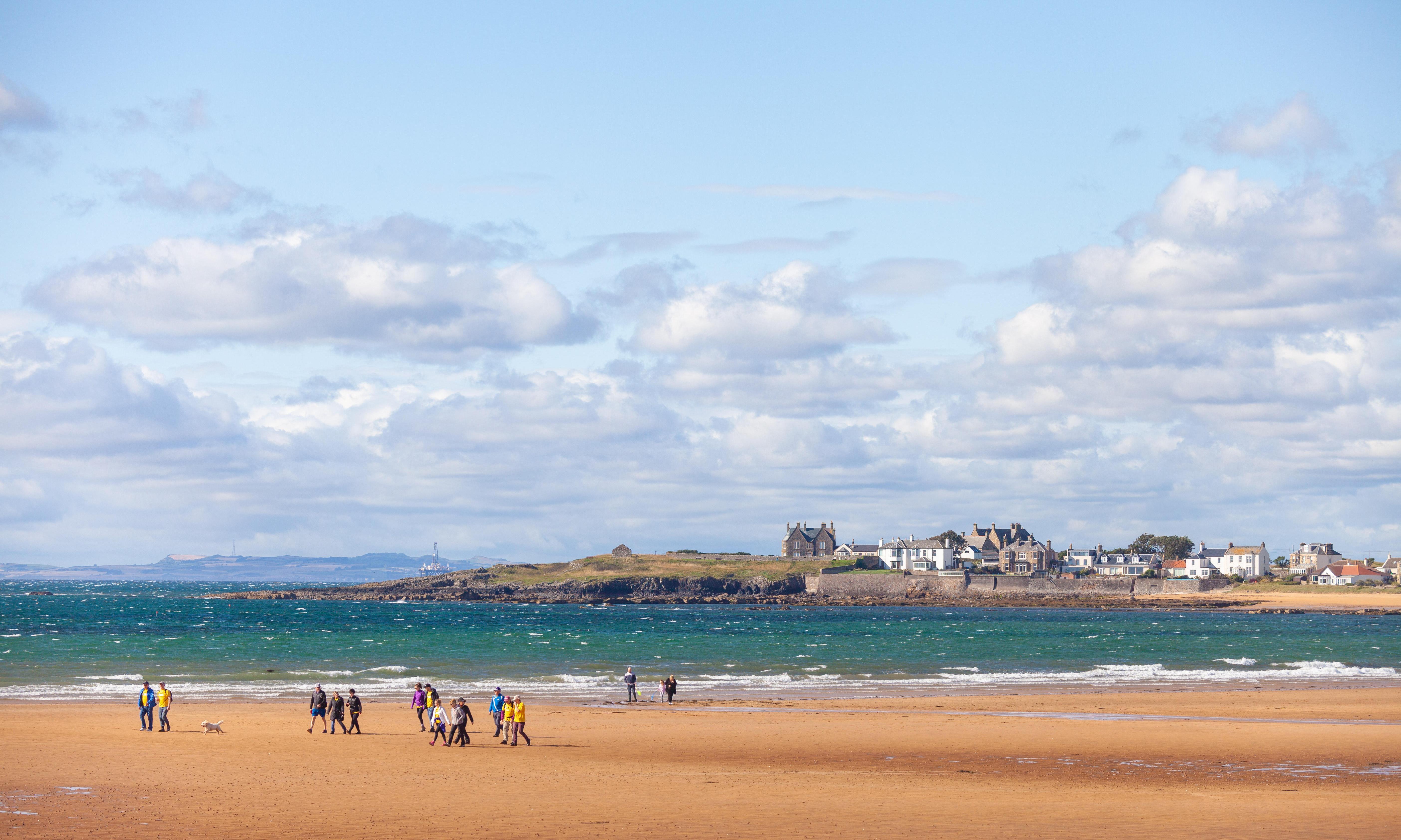 Fife Coastal Path: a car-free tour along Scotland's shoreline