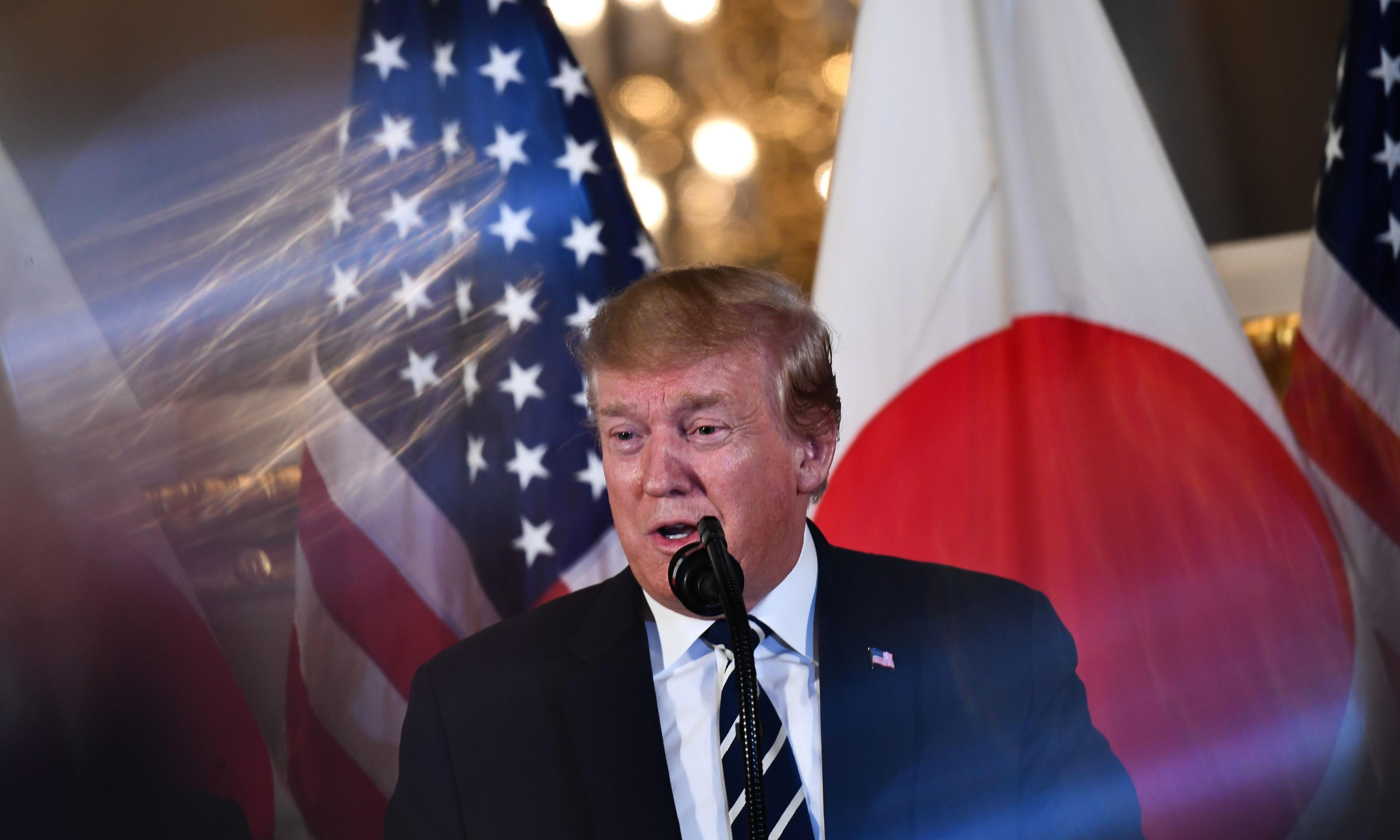 Trump arrives in Tokyo and digs Japan for 'substantial edge' on trade