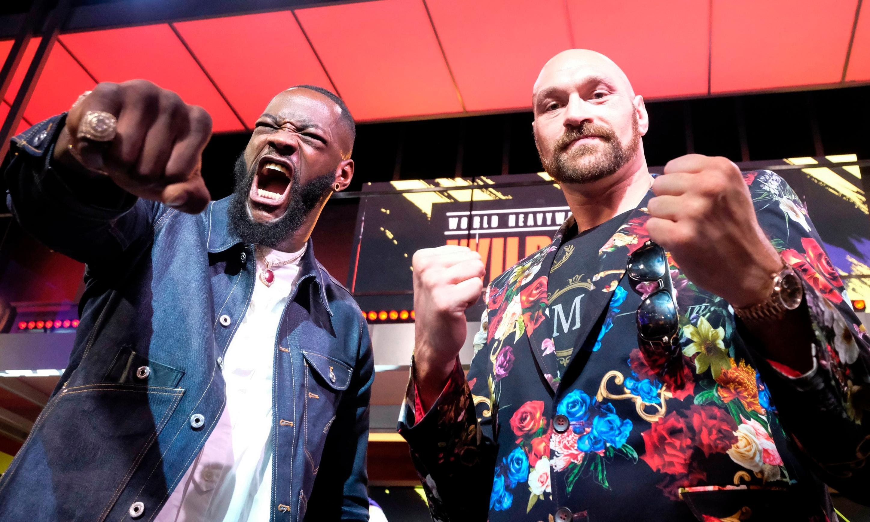 I'm coming at Deontay Wilder like a raging bull, says reformed Tyson Fury