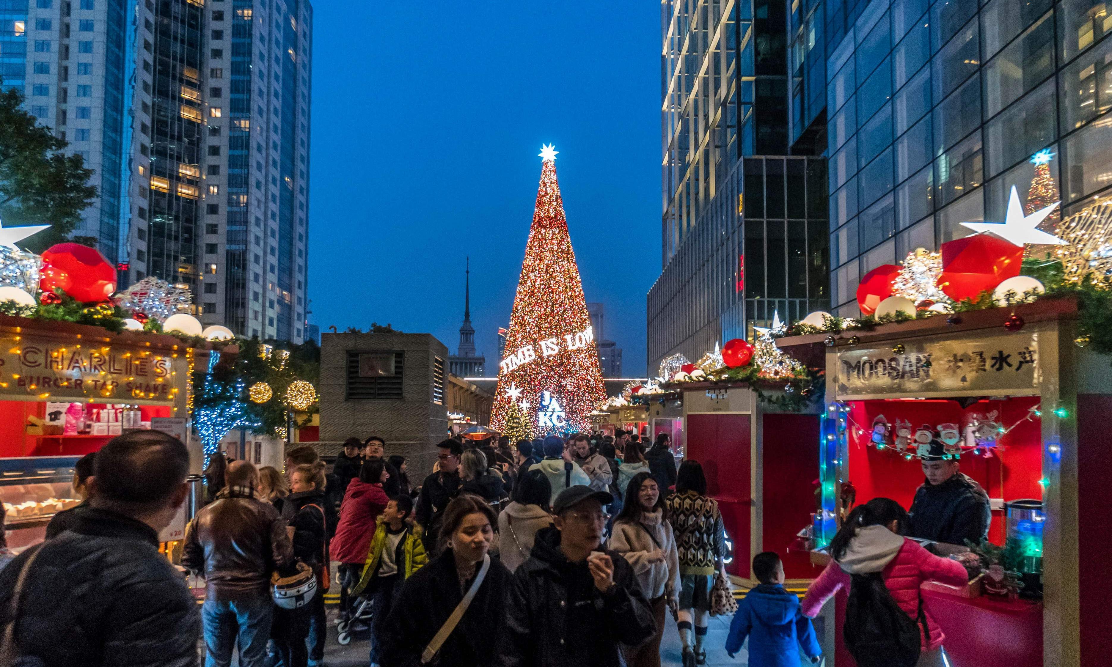China cracks down on Christmas celebrations