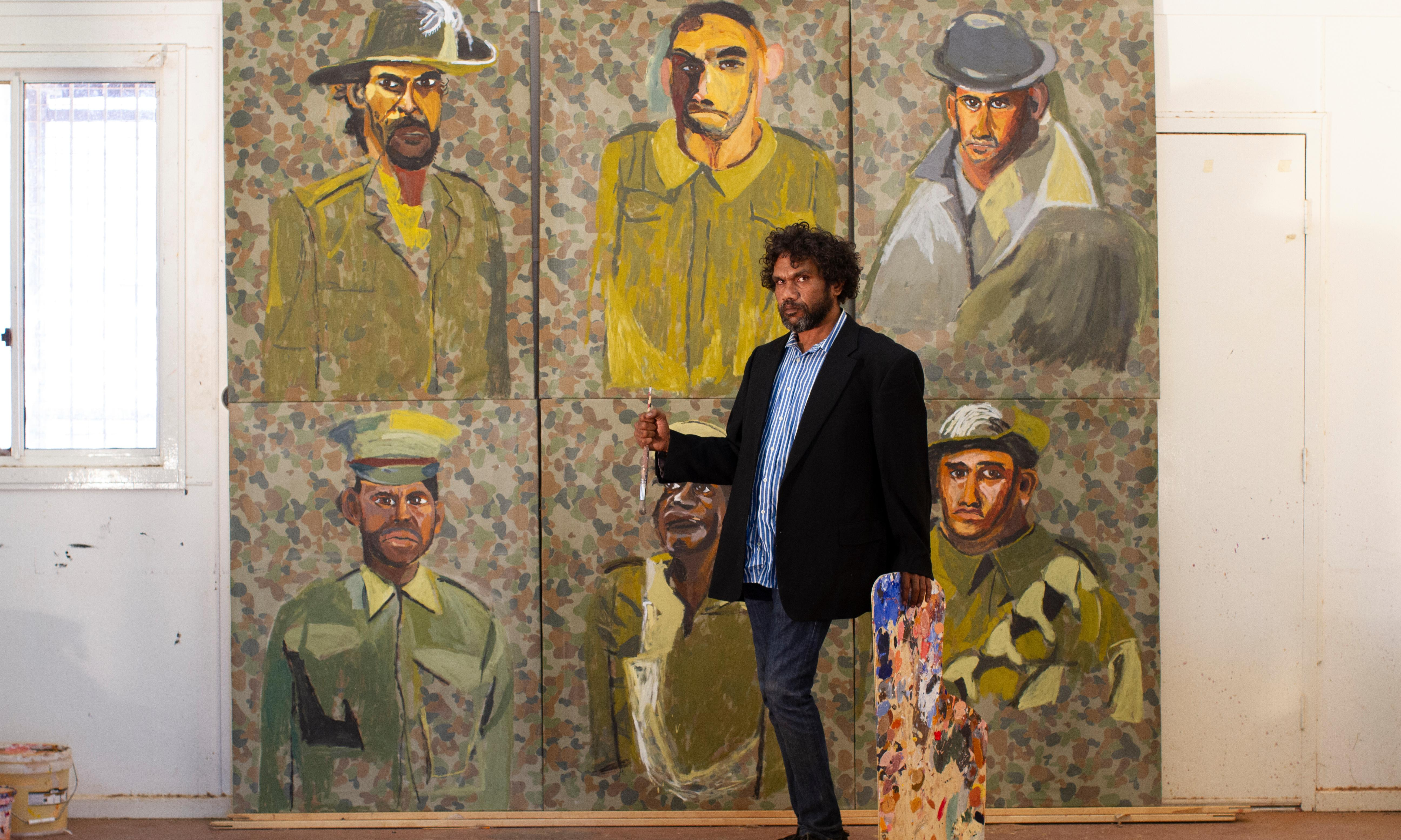 'Youngfellas': artists come to grips with legacy of Indigenous servicemen