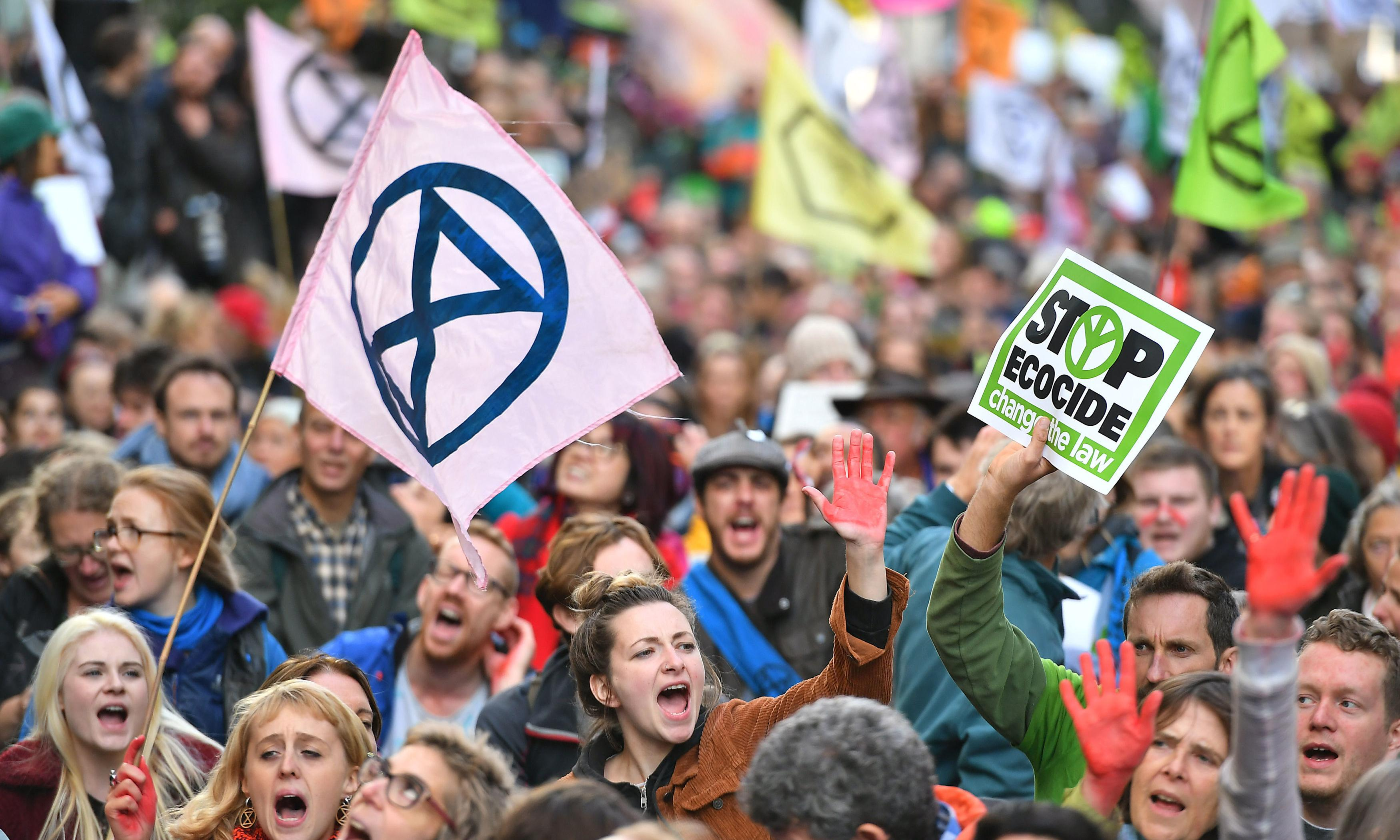 When I look at Extinction Rebellion, all I see is white faces. That has to change