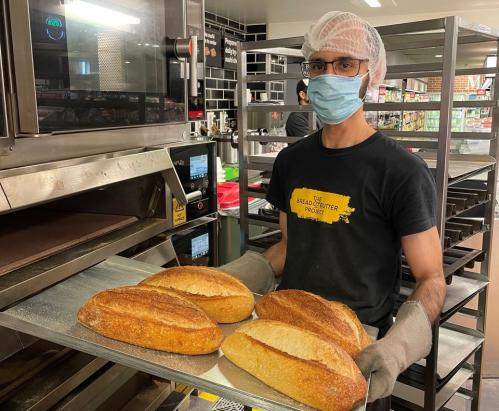 Imad Alothman, a Bread and Butter project trainee