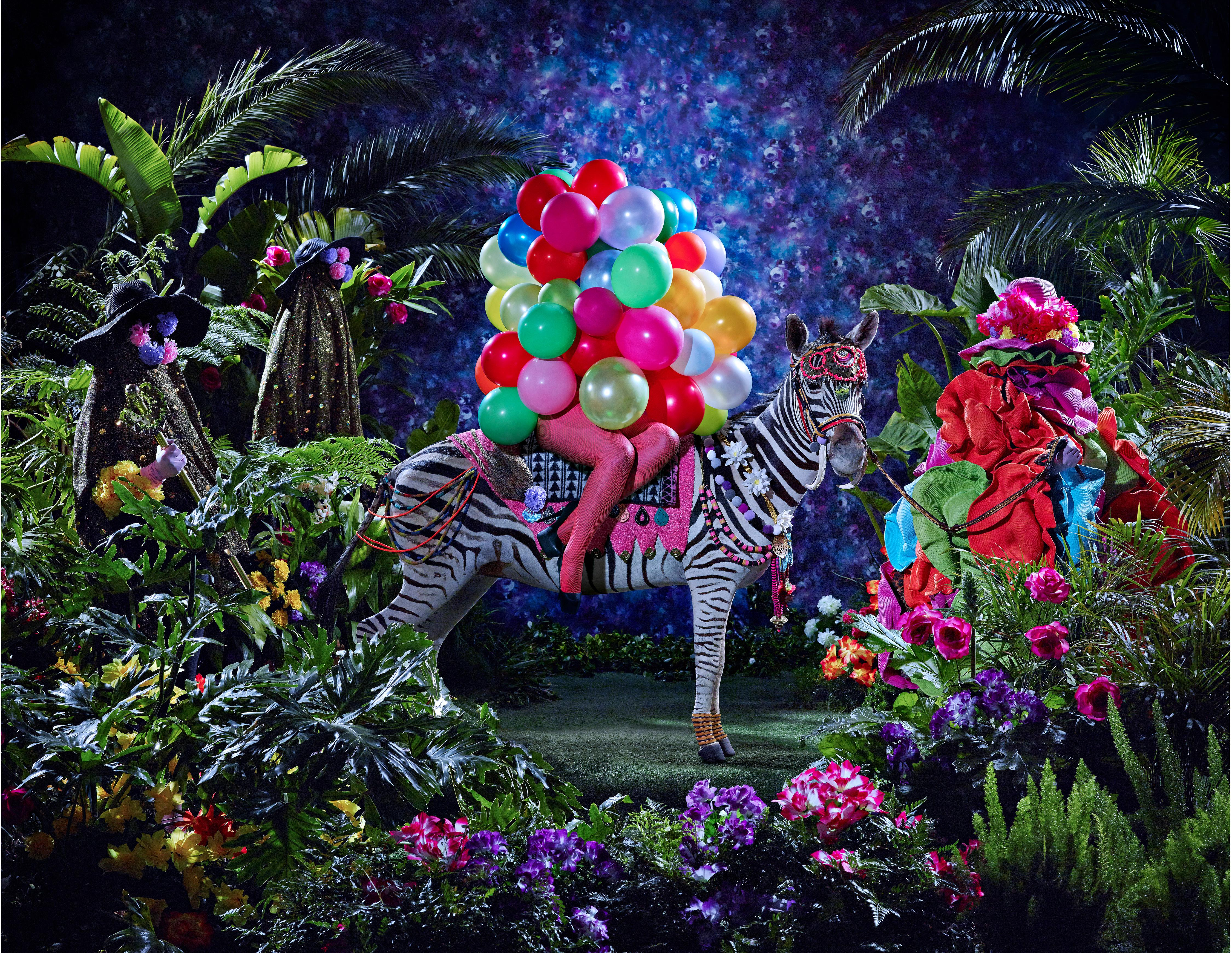 Athi-Patra Ruga's best photograph: a queer black fantasia with added zebras