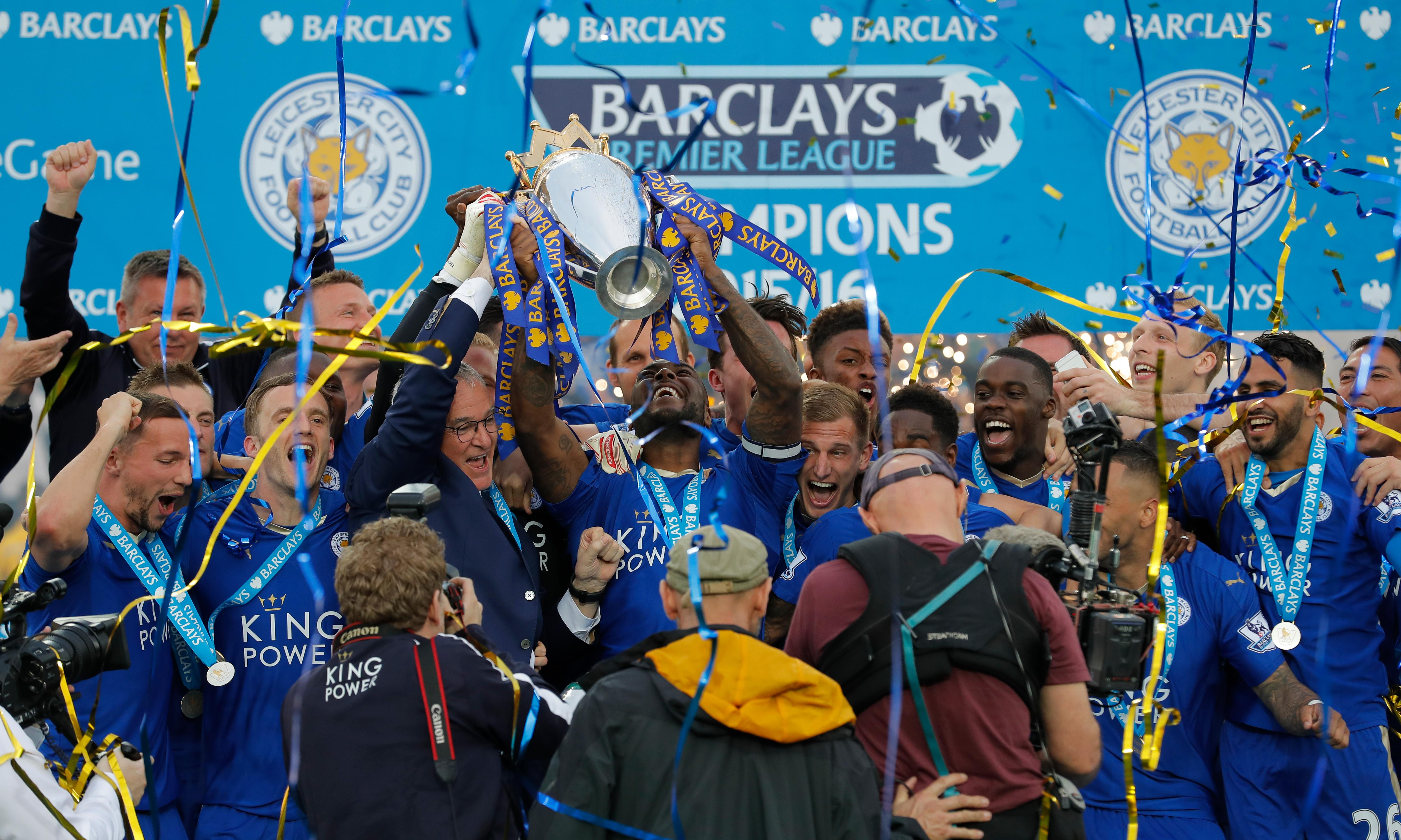 Leicester City- Surprise Premier League winners