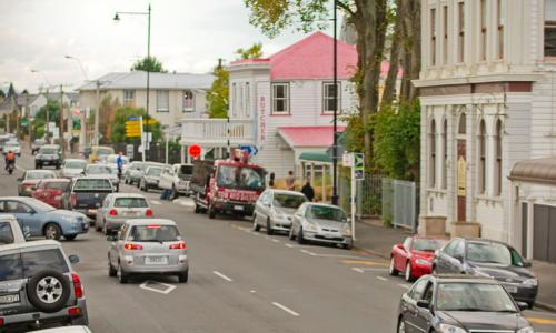 The main street of Greytown
