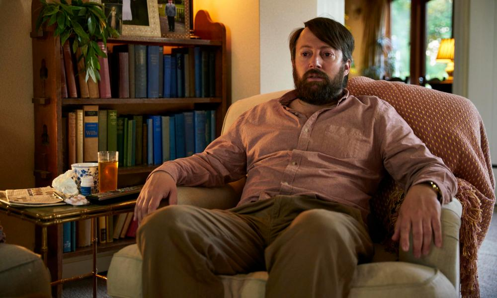 Deft touch … David Mitchell as an unspooling Stephen in Channel 4's Back.