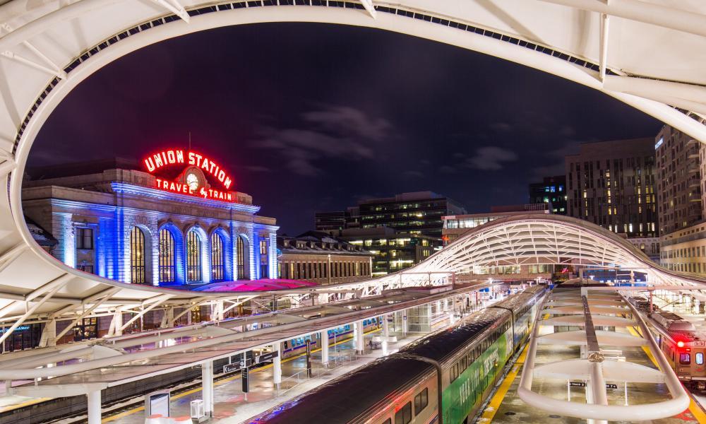 Union Station, Denver.