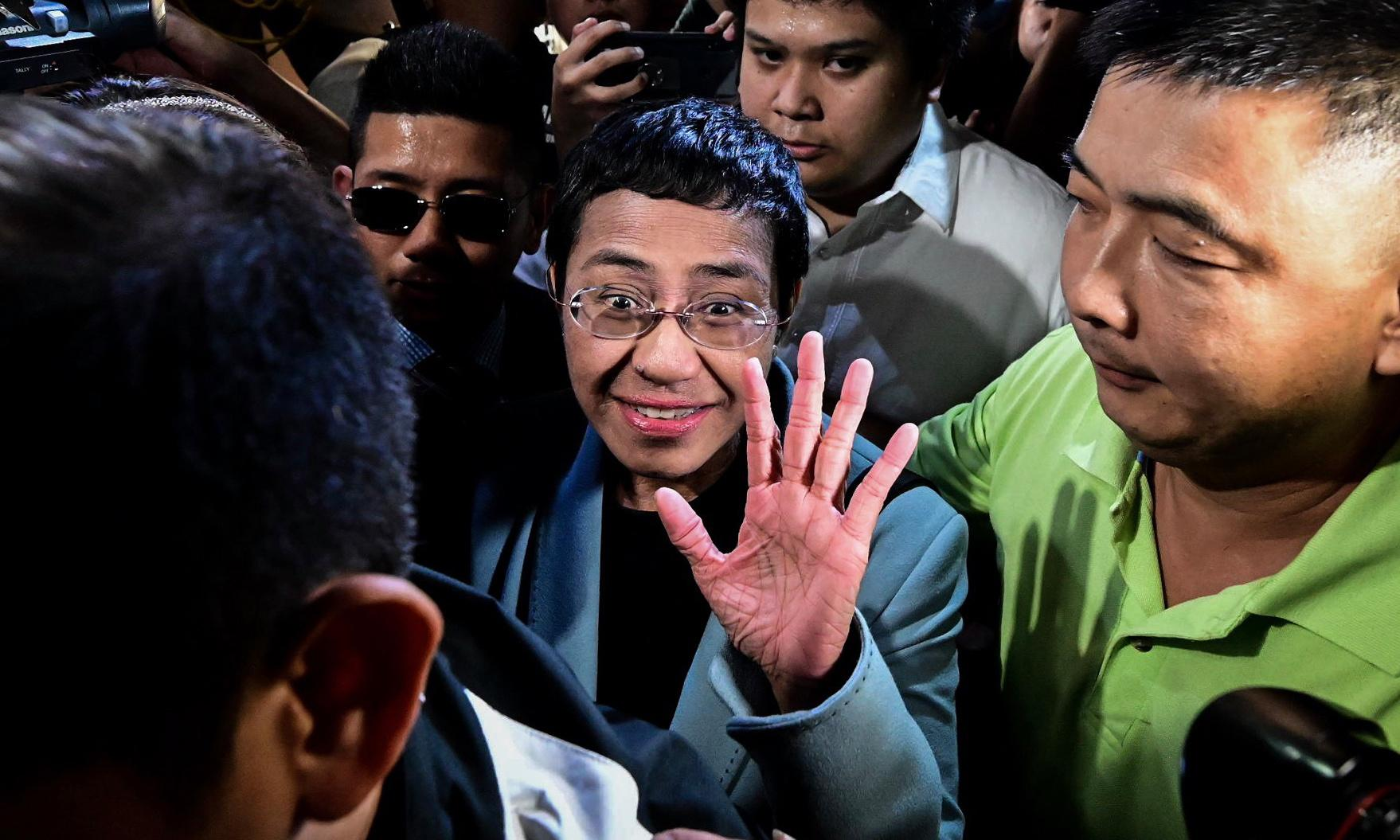 Maria Ressa arrest: everything you need to know about the Rappler editor