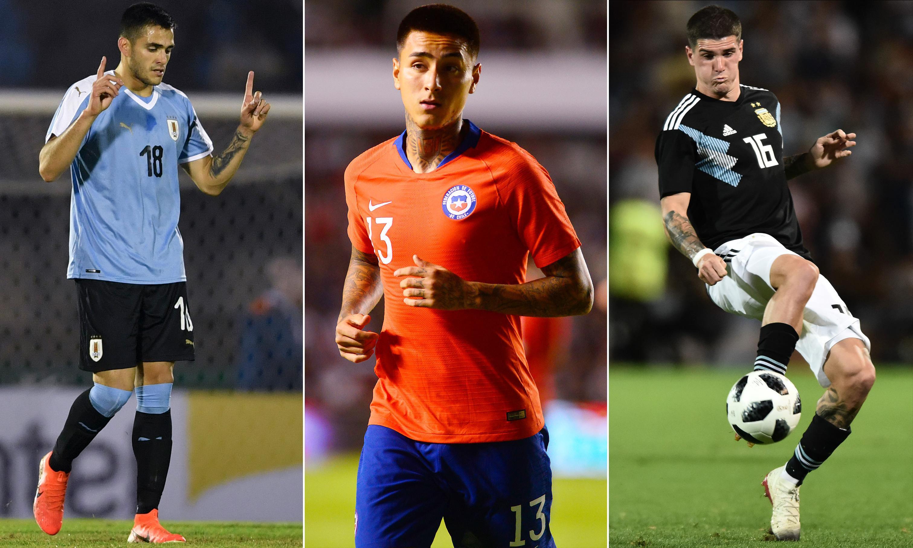 The top transfer targets in action at the Copa América