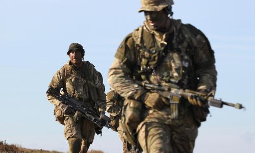 'I missed serving my country': the military veterans joining the NHS