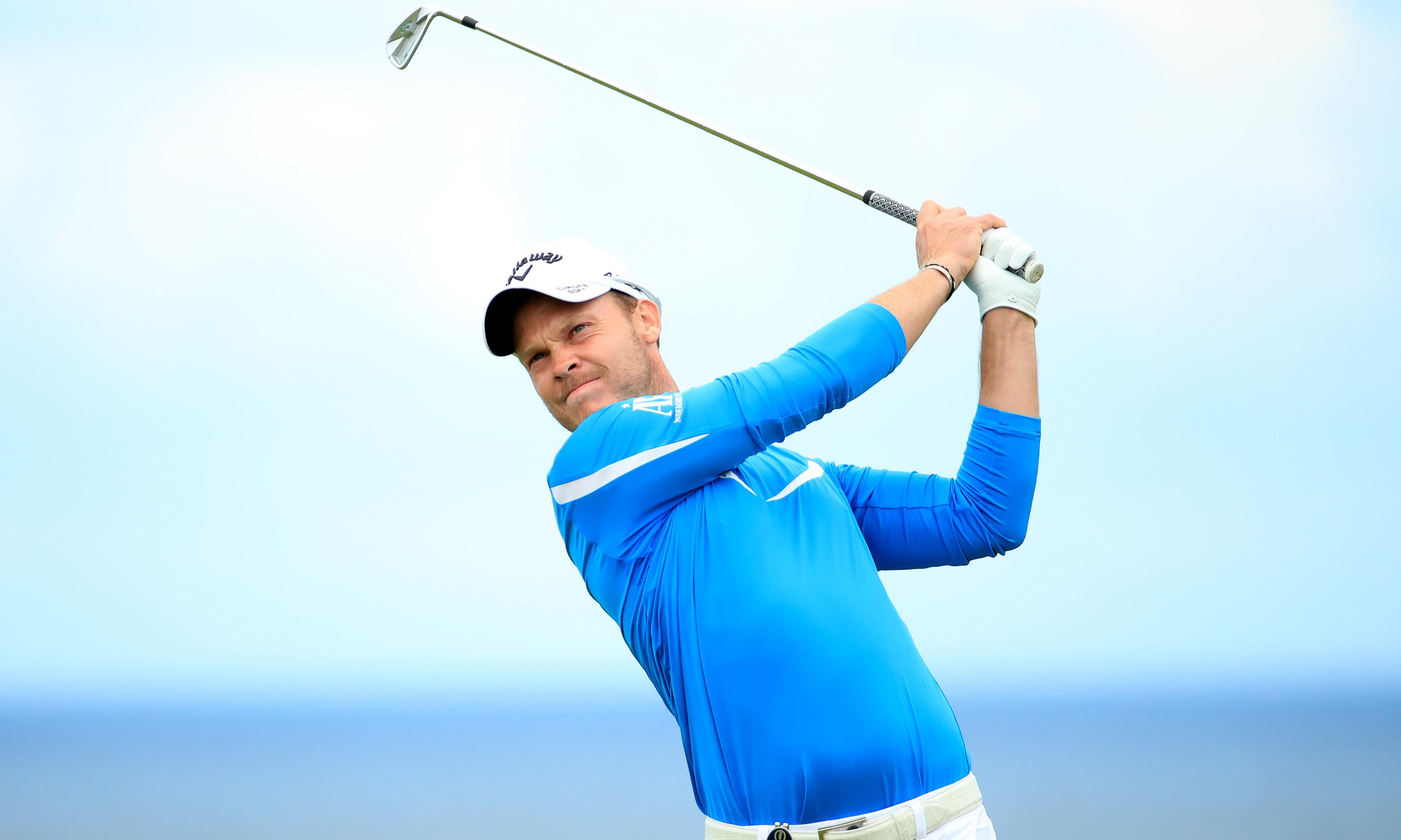 Danny Willett glad to be back in the Open frame after long slump