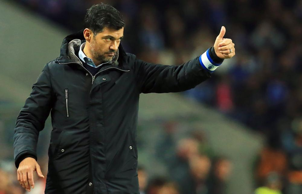 Porto coach Sérgio Conceição will be looking to mastermind victory against Liverpool.