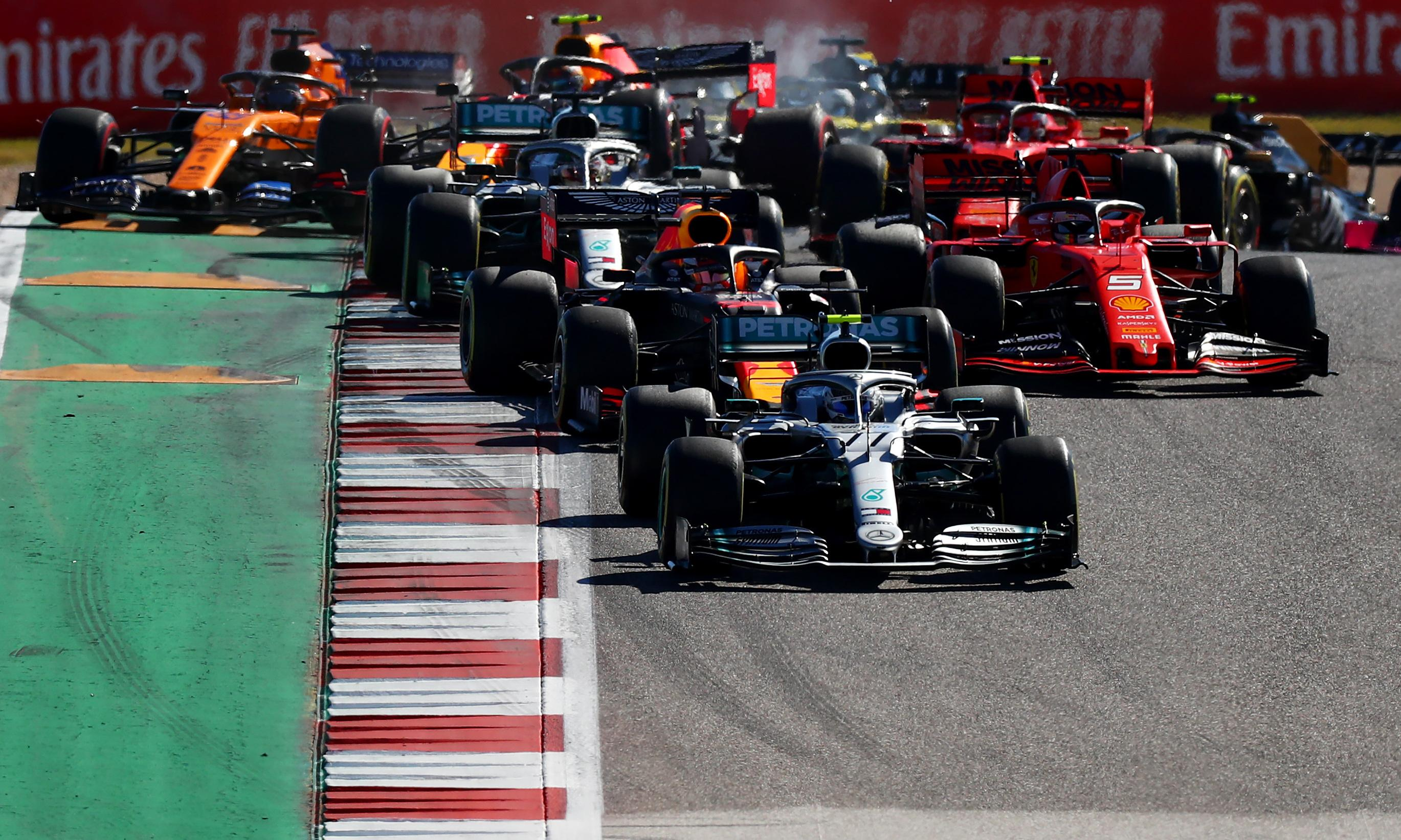 F1 aims to set benchmark for sporting world with pledge to go carbon neutral