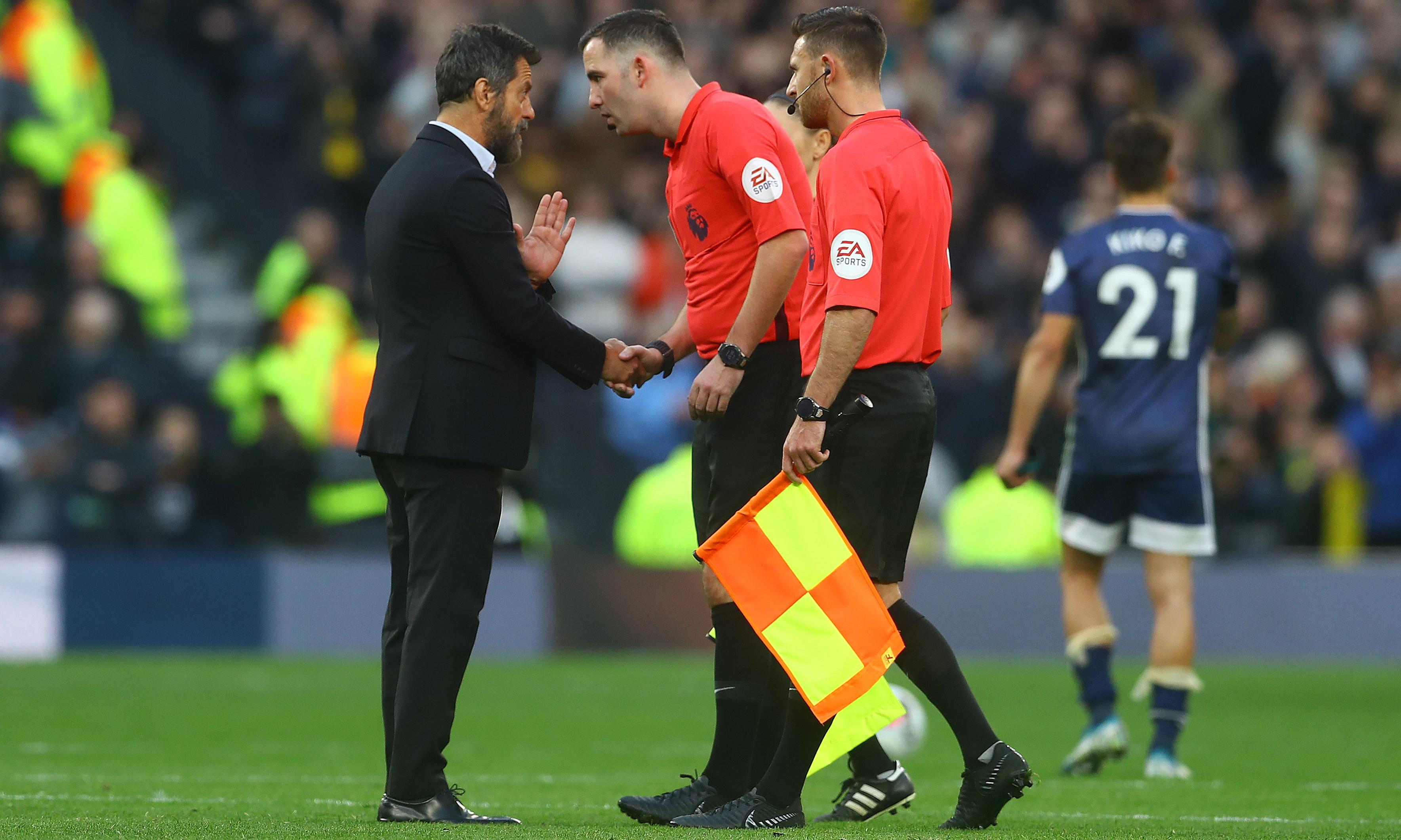 'I thought VAR was supposed to help,' fumes Quique Sánchez Flores
