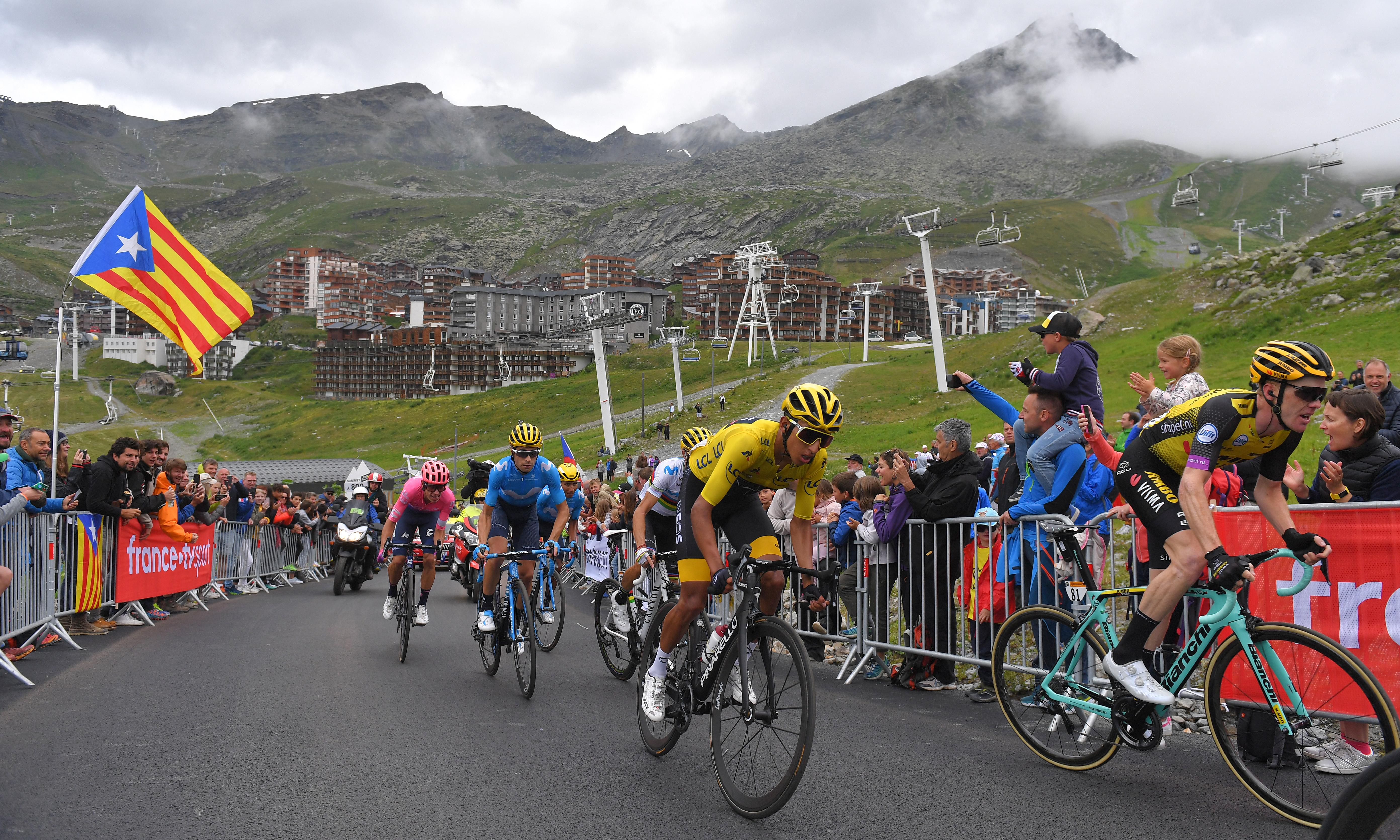 Egan Bernal set for Tour de France title after retaining yellow for ride to Paris