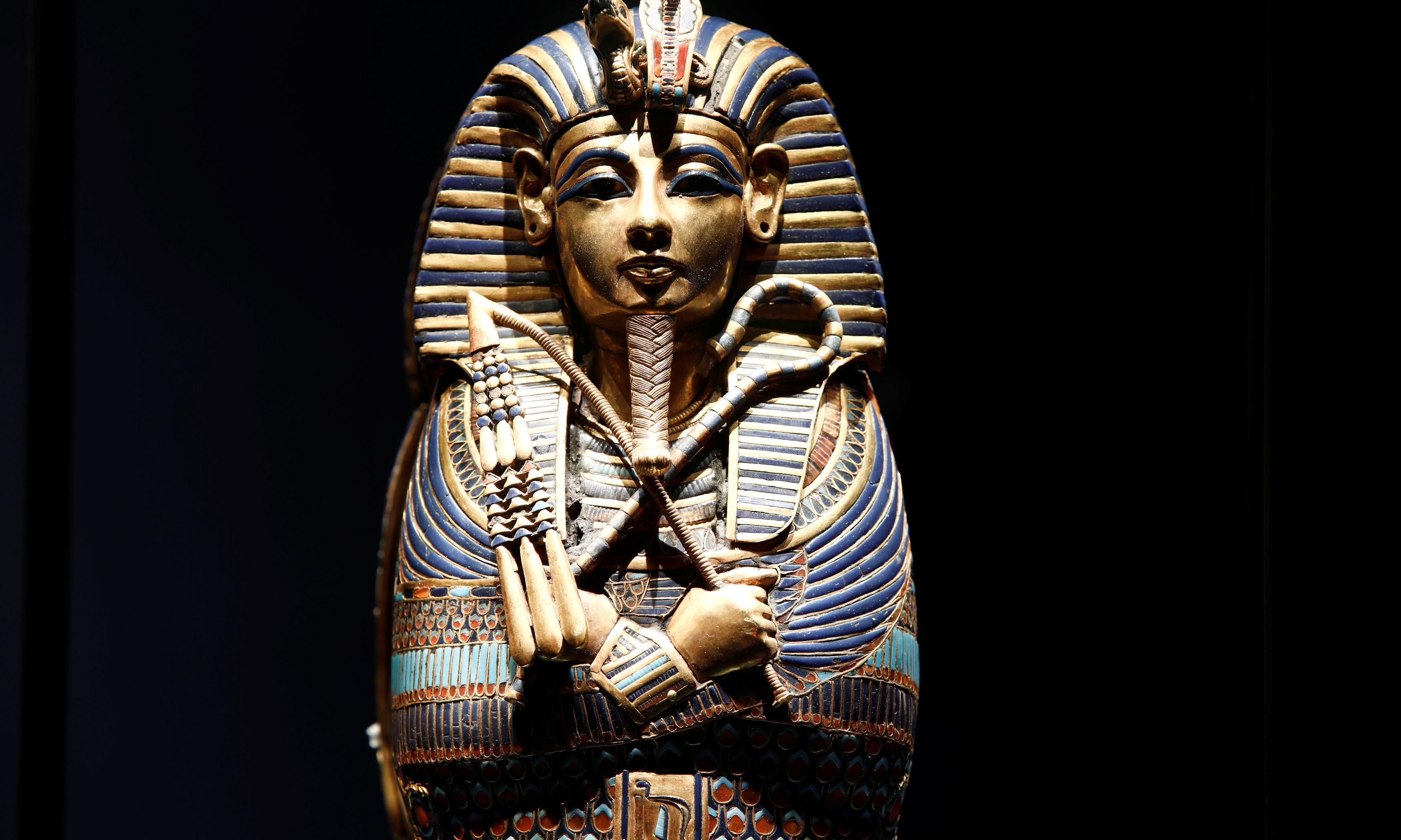 Who's the mummy? Tutankhamun show breaks French visitor record