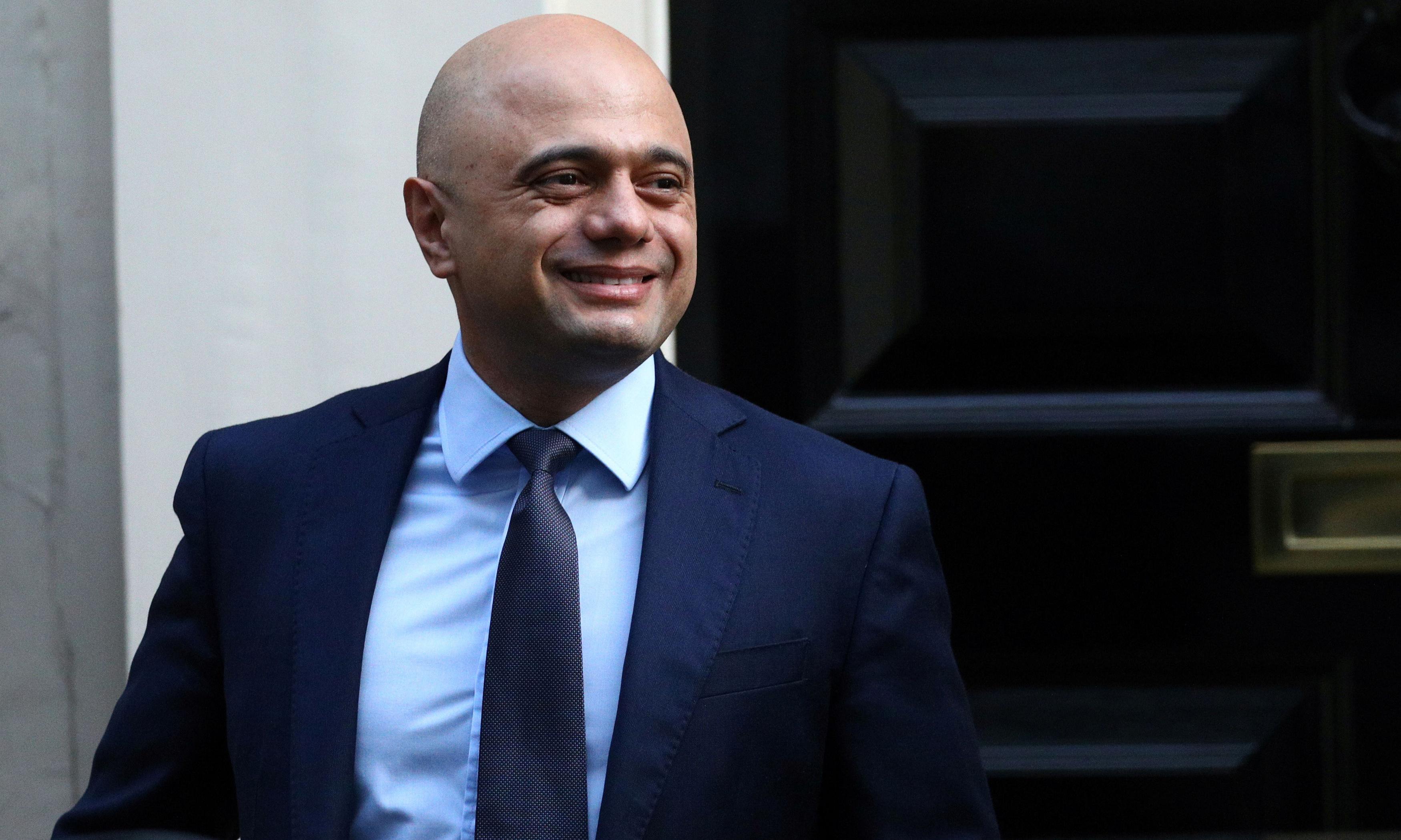 Sajid Javid refuses to assess economic dangers of Brexit plan