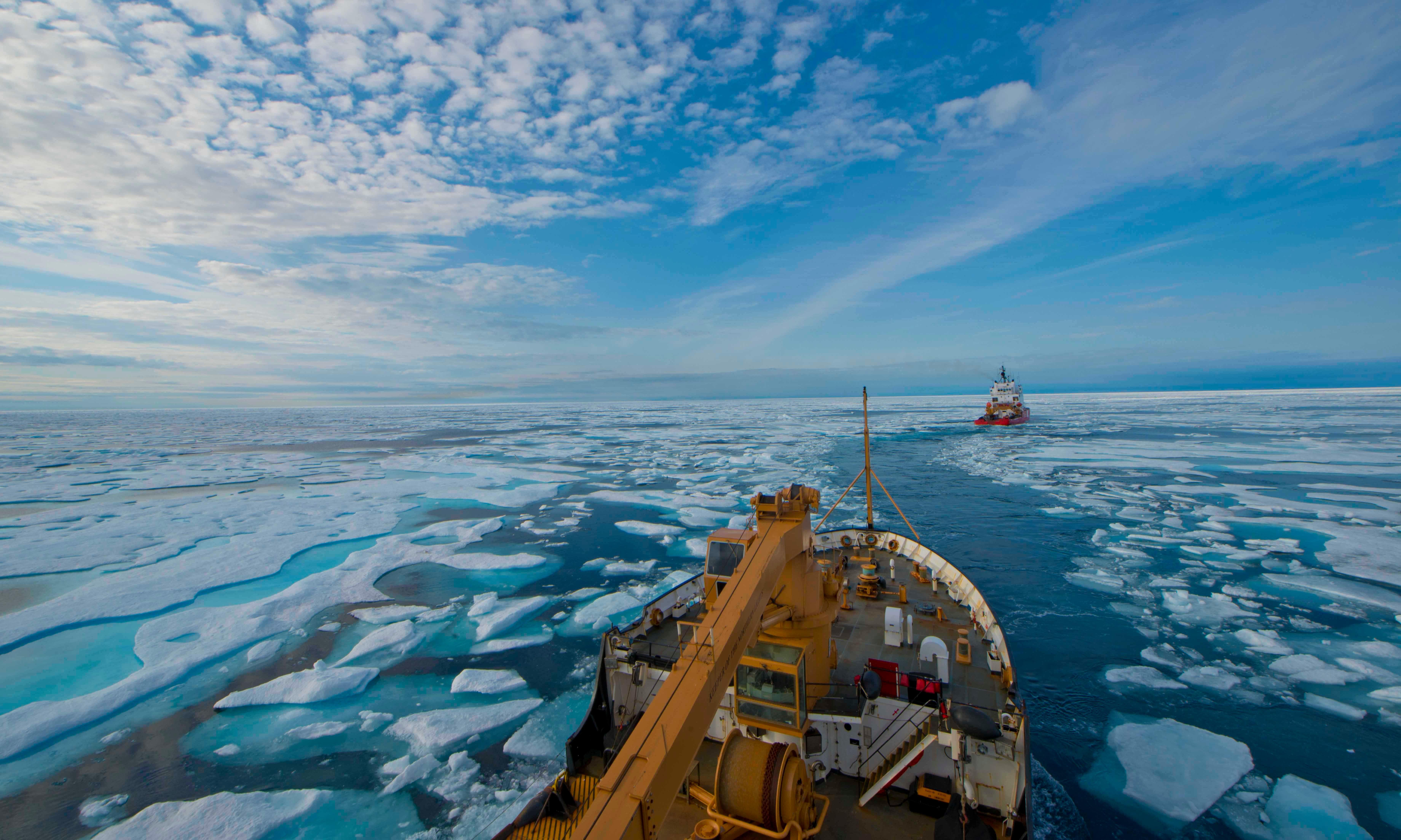 Commercial fishing banned across much of the Arctic