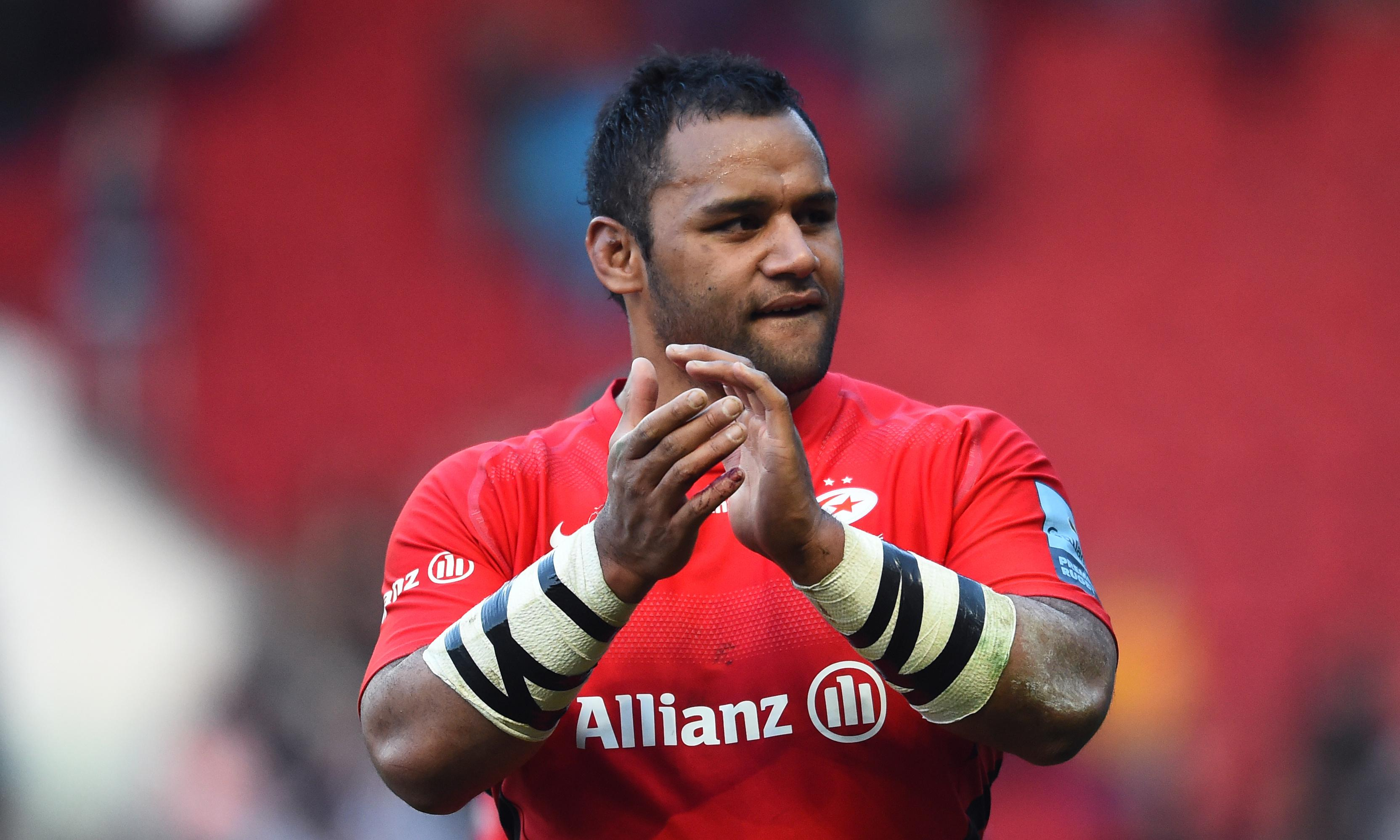Billy Vunipola warned by Saracens over his support for Israel Folau