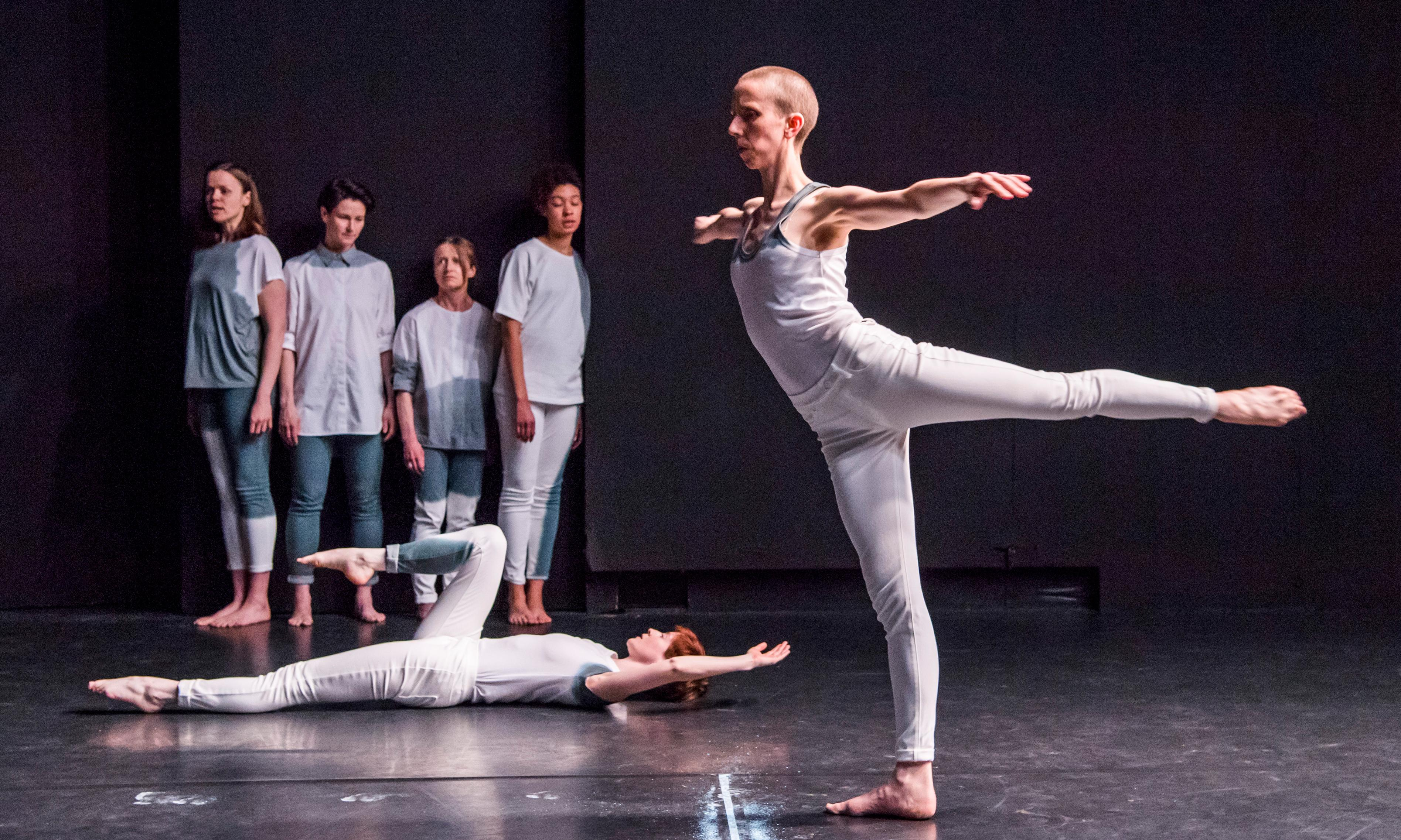 Crave review – Julie Cunningham dances in the darkness of Sarah Kane's play